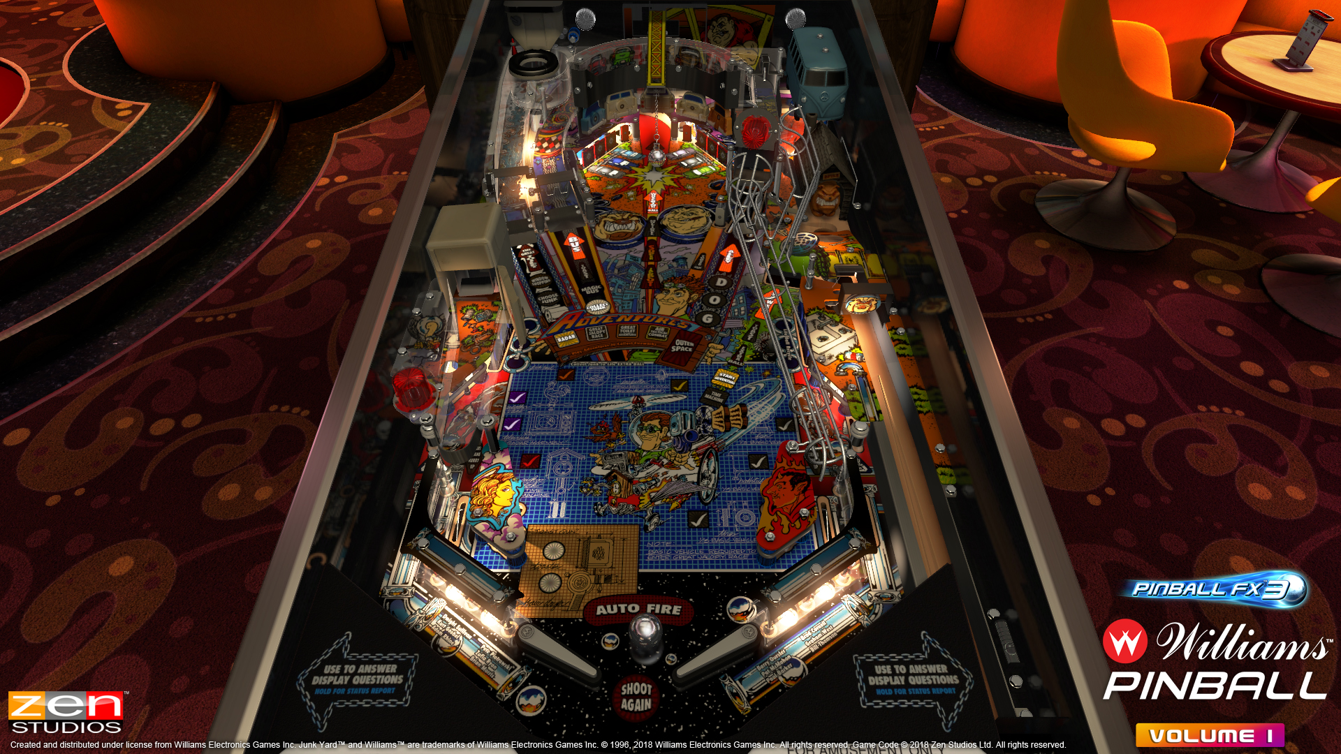 Bally/Williams pinball tables coming to Zen Studios' Pinball