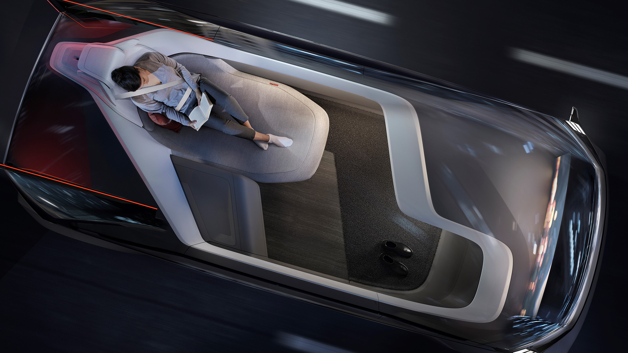 Volvo S 360c Concept Car Is A Fully Autonomous Bedroom On