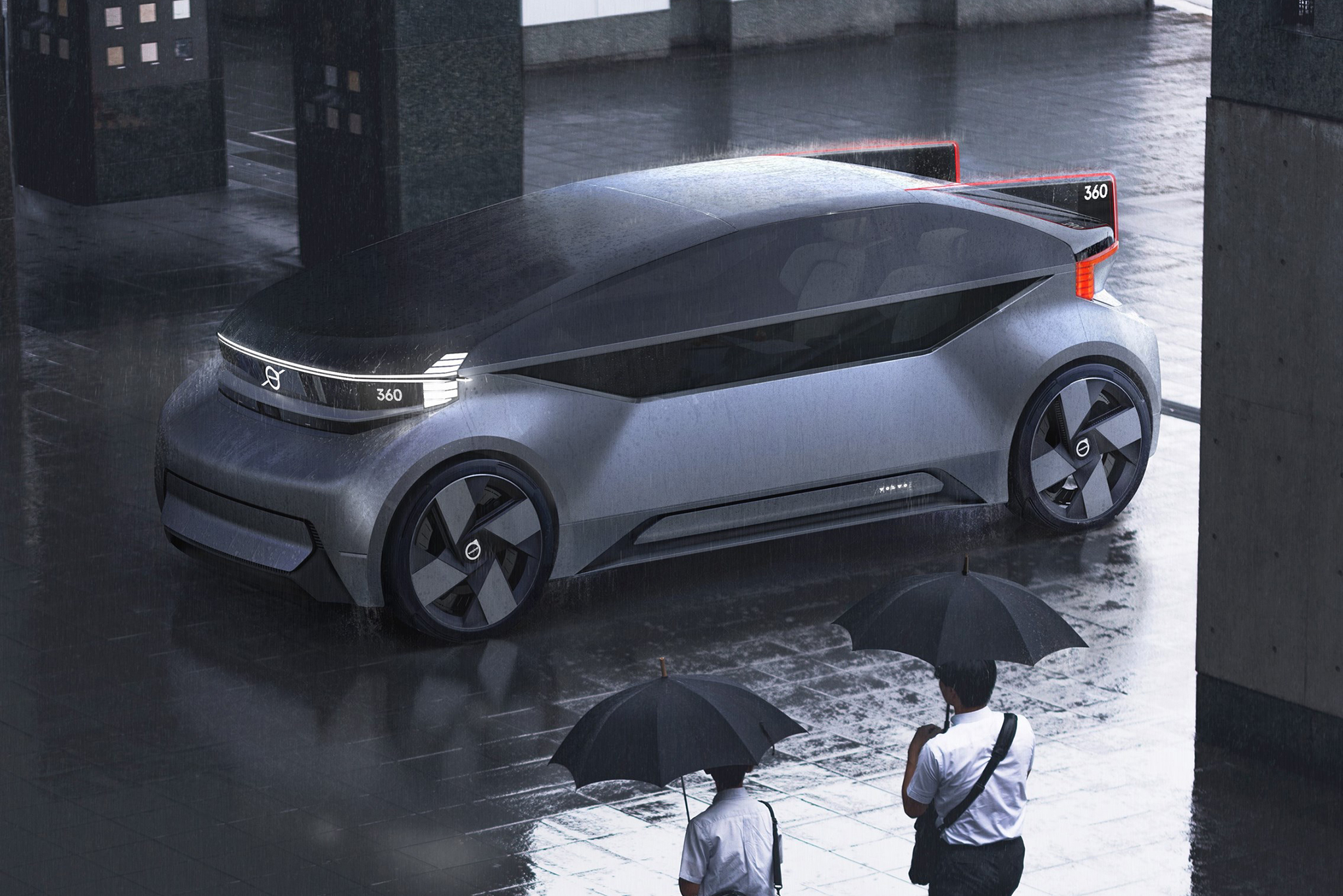 Volvo's 360c concept car is a fully autonomous bedroom on ...