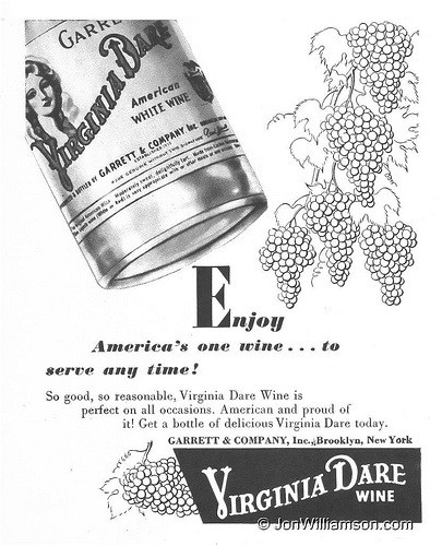Much Of White America Is Perfectly >> Vintage America A Brief History Of Wine In America Eater