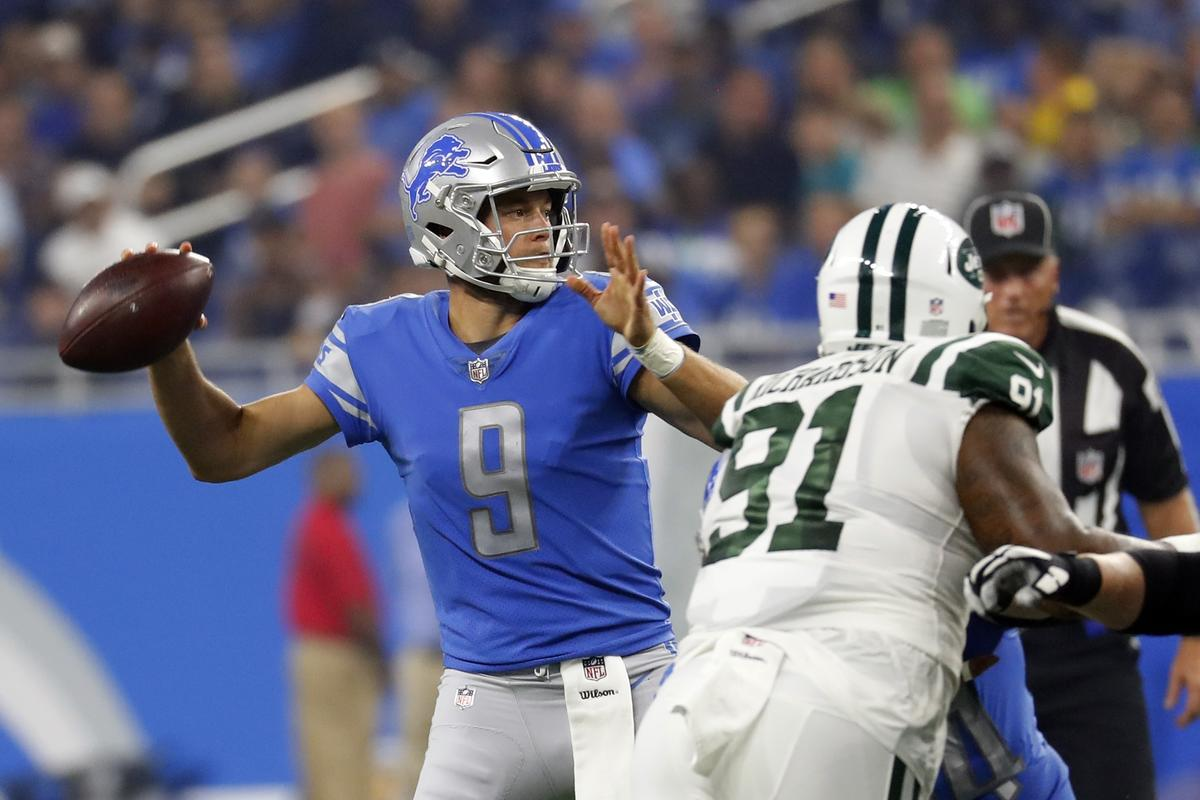N.Y.Jets @ Detroit Lions MNF Game One Thread