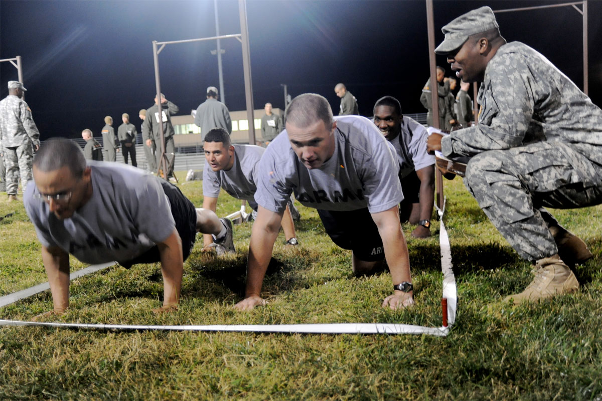 Top 10 Military Workouts For Fast Weight Loss