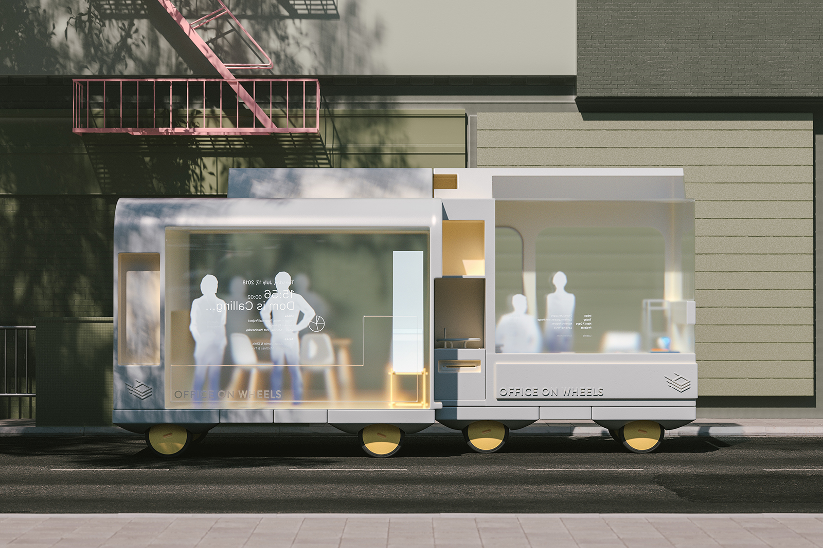 Ikea's Space10 imagines the future of self-driving cars