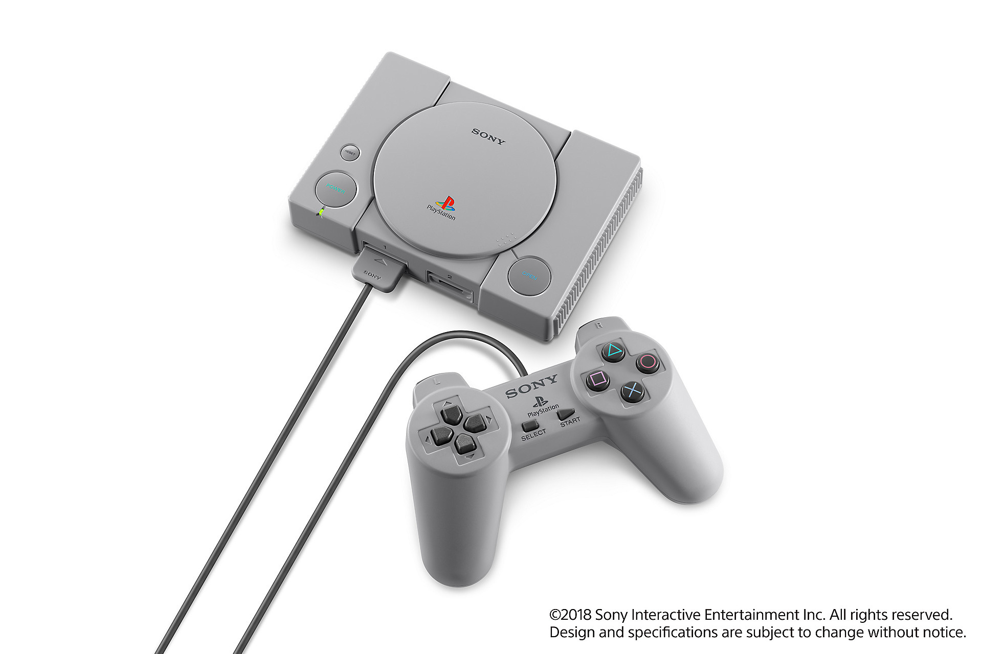 PlayStation Classic, a $100 mini PS1 with 20 games, coming in