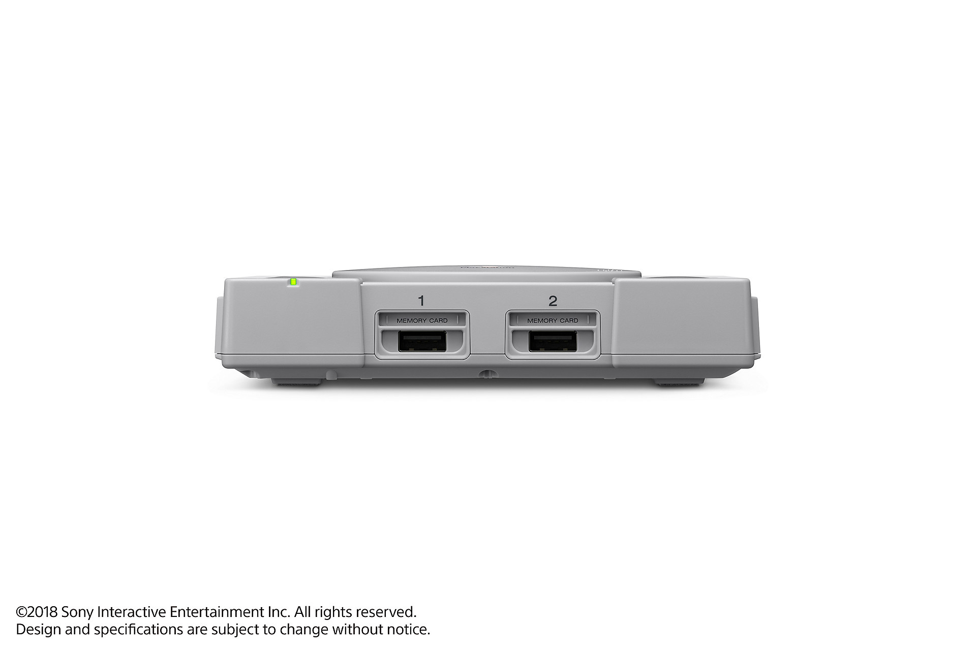 Playstation Classic A 100 Mini Ps1 With 20 Games Coming In Specification Of Parallel Port The Controllers Plug Into Usb Slots Located Same Place As Original Systems Controller Ports Sony Interactive Entertainment