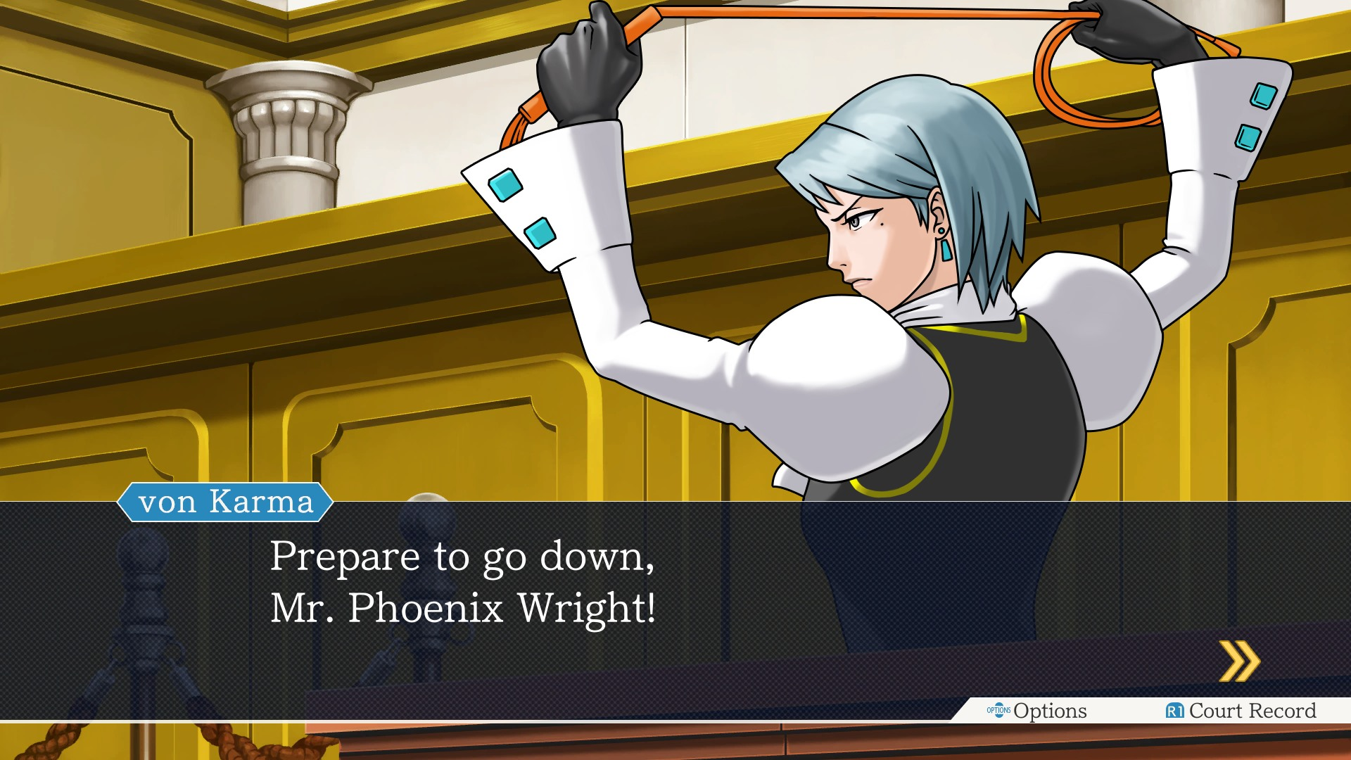 Dating fight phoenix wright