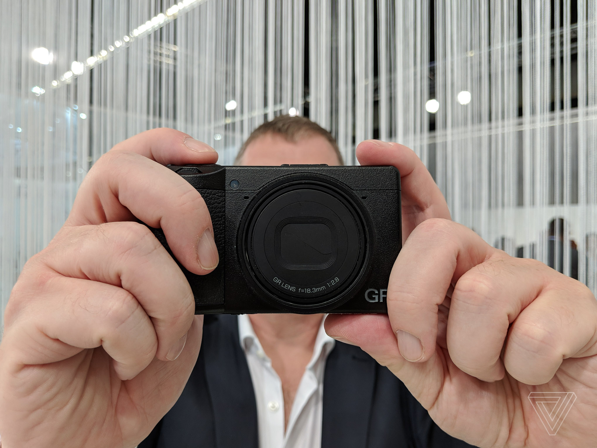 Ricoh's GRIII camera is just tiny enough to survive the