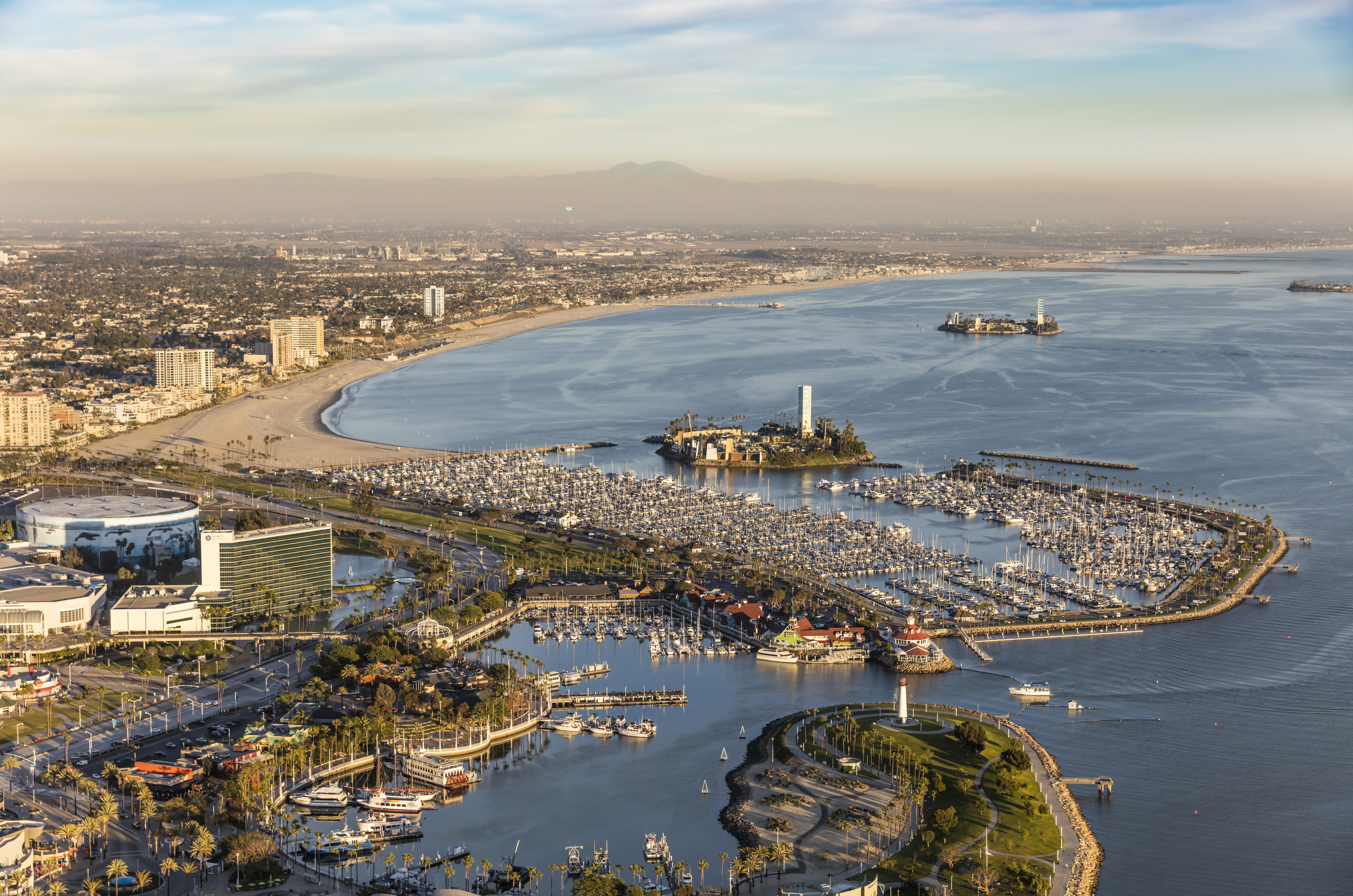 Long Beach's deceptive islands