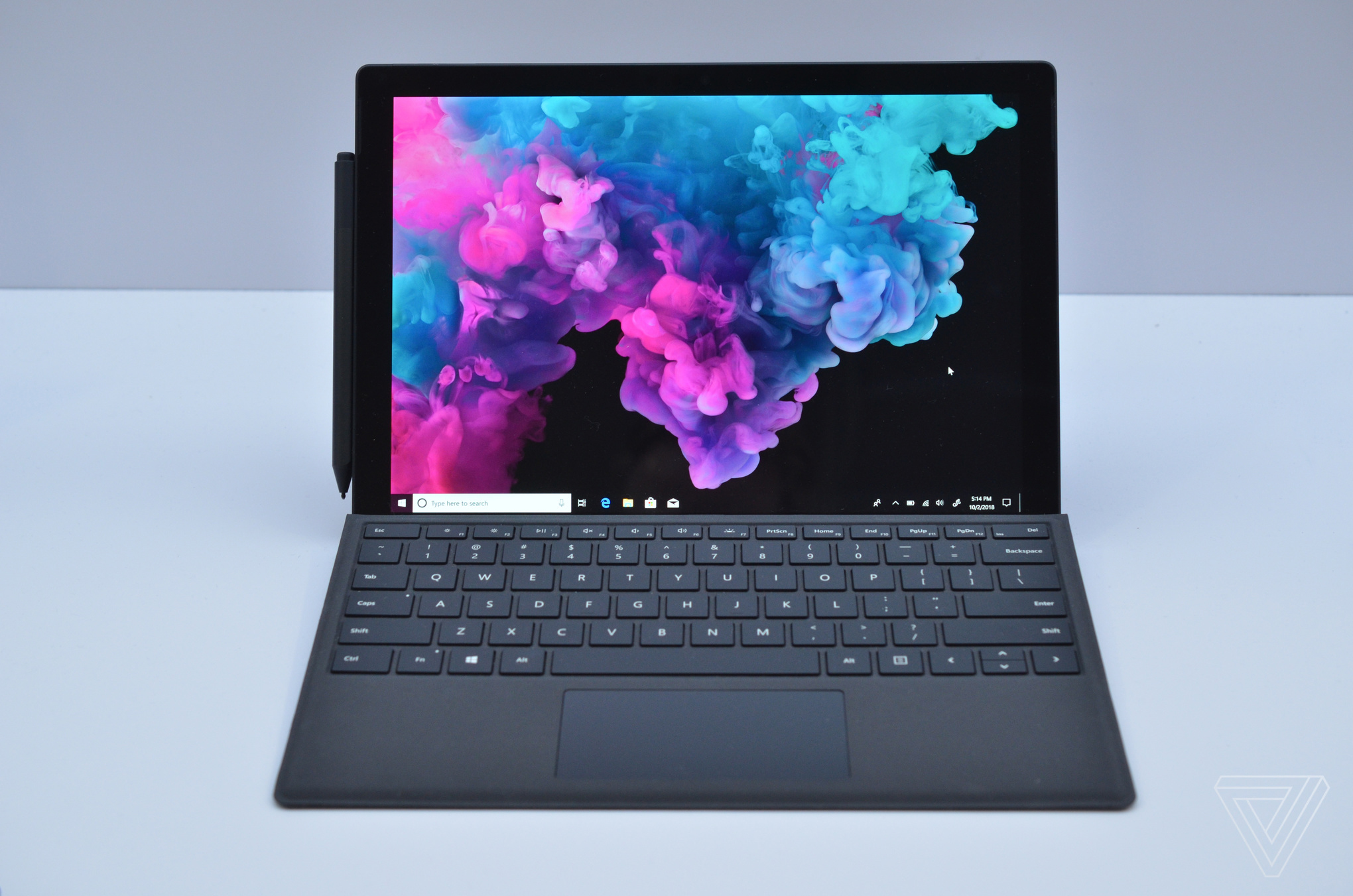 4b4cc3b543e Microsoft Surface Pro 6 in matte black hands-on - The Verge