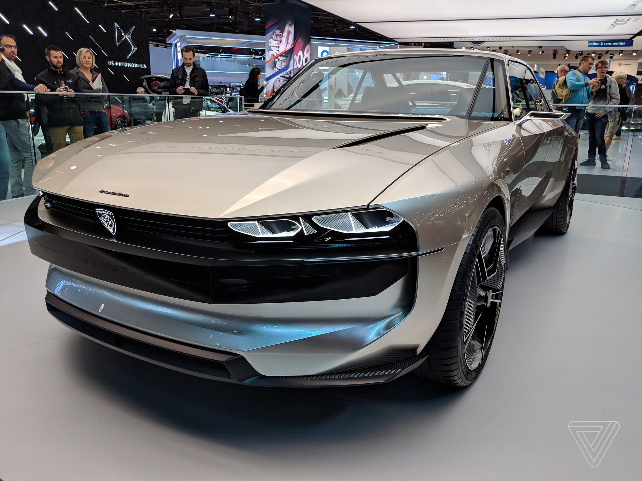 Peugeot S E Legend Concept Is A Muscle Car For The Electric Age