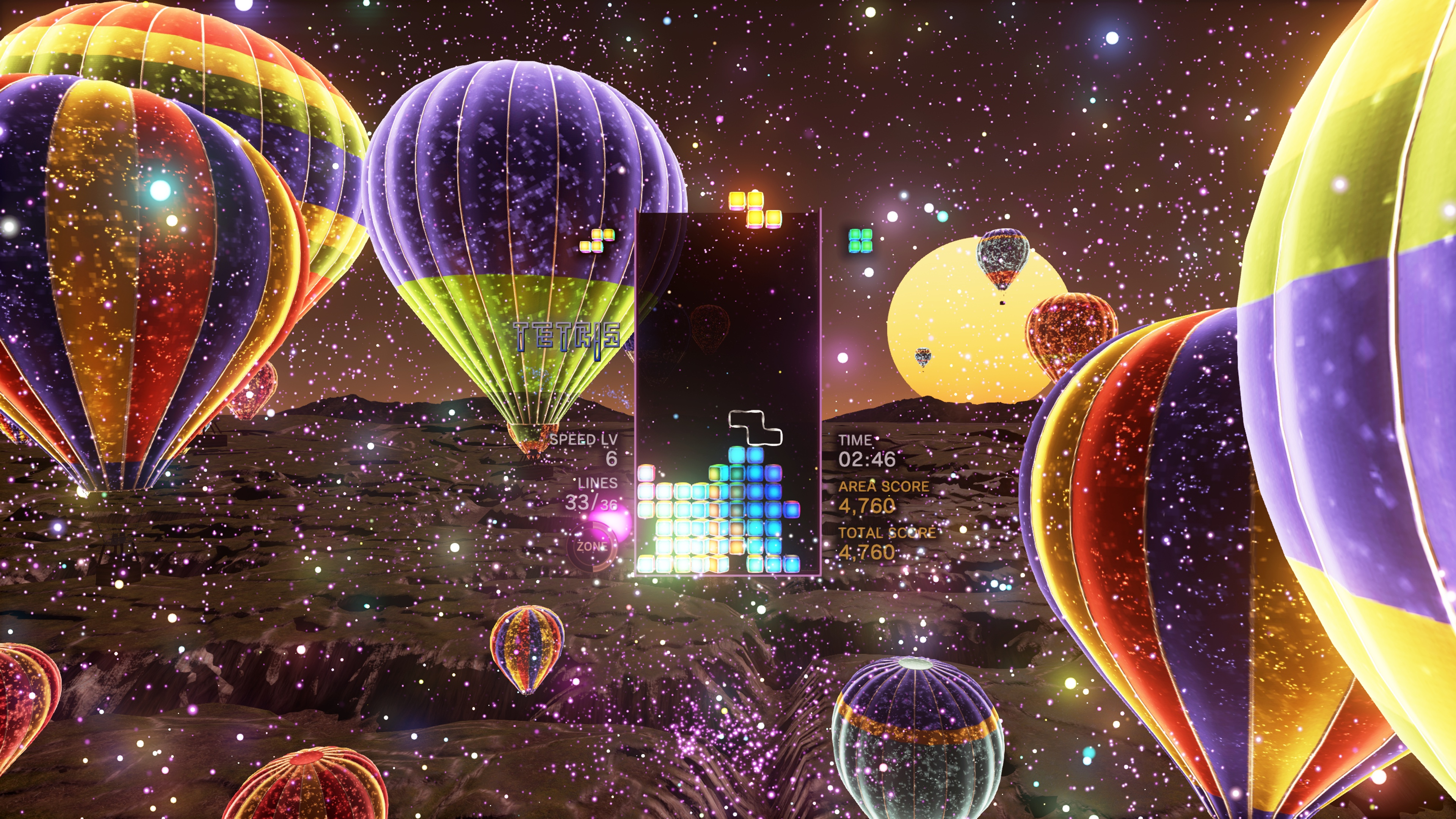 Tetris Effect is loaded with game modes designed to keep you