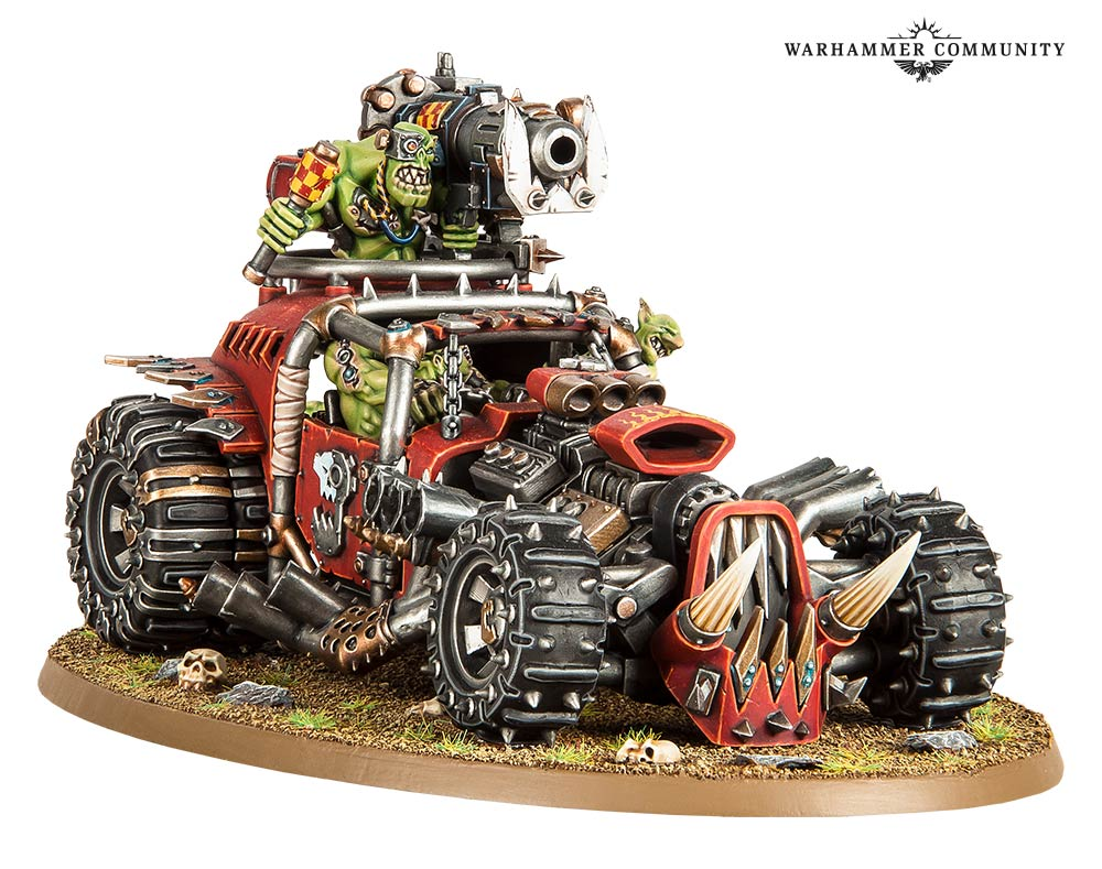 Warhammer 40K's Ork refresh includes a weaponized food truck - Polygon