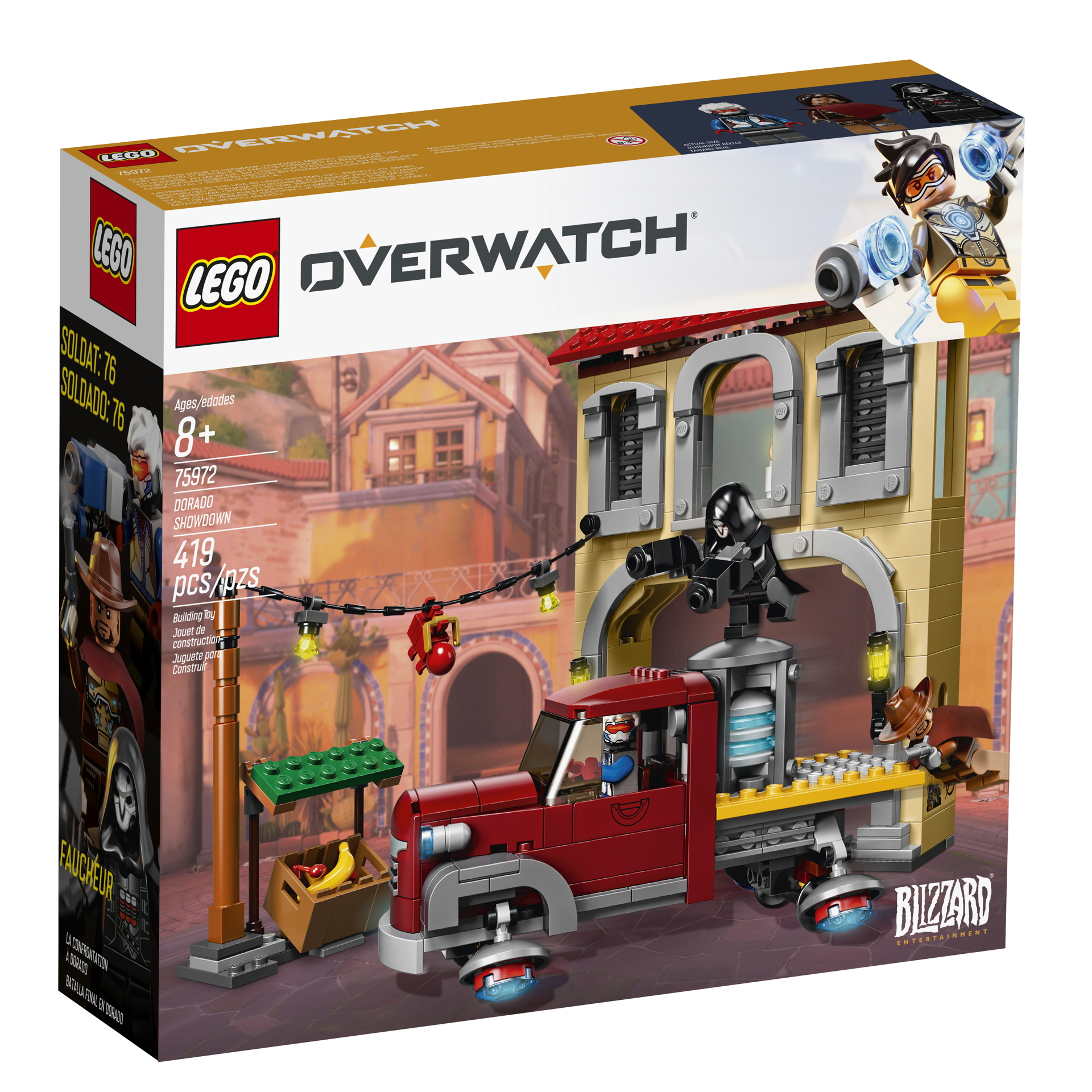 Overwatch Lego sets announced, available Jan  1 - Polygon