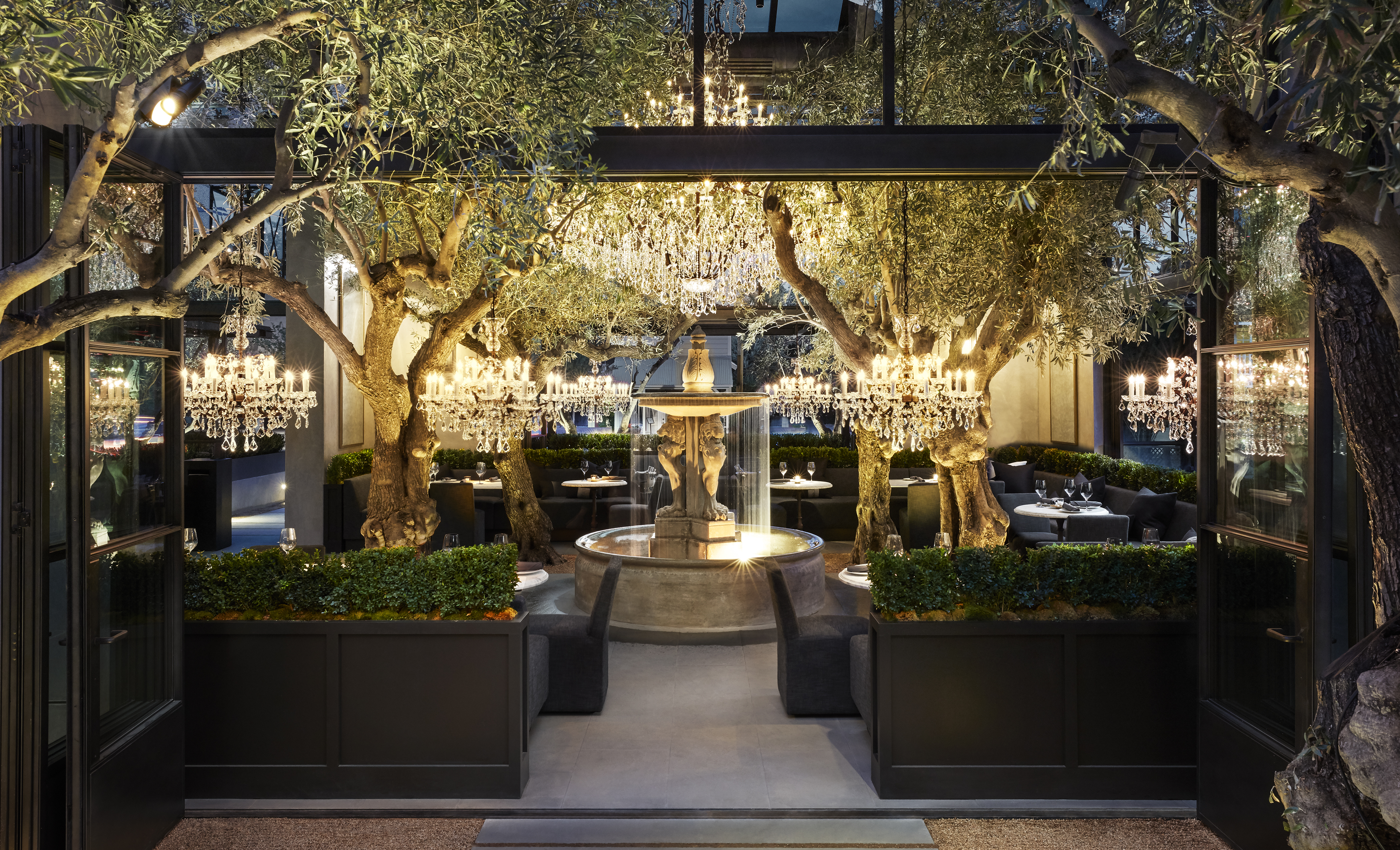 Food, Wine, Coffee, and Retail Blend at Yountville's Newest Luxury Destination