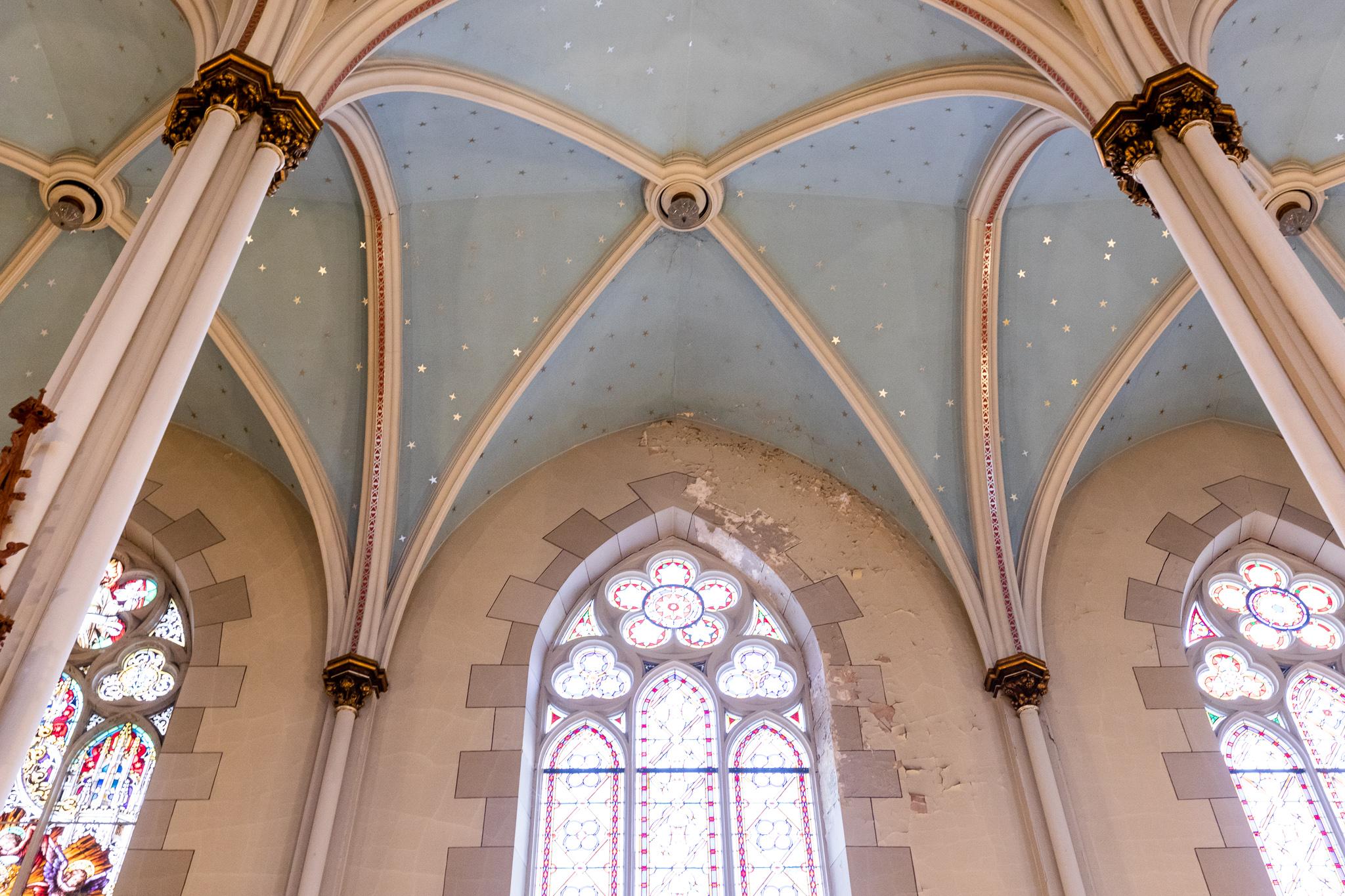 Historic Detroit church undergoes extensive restoration
