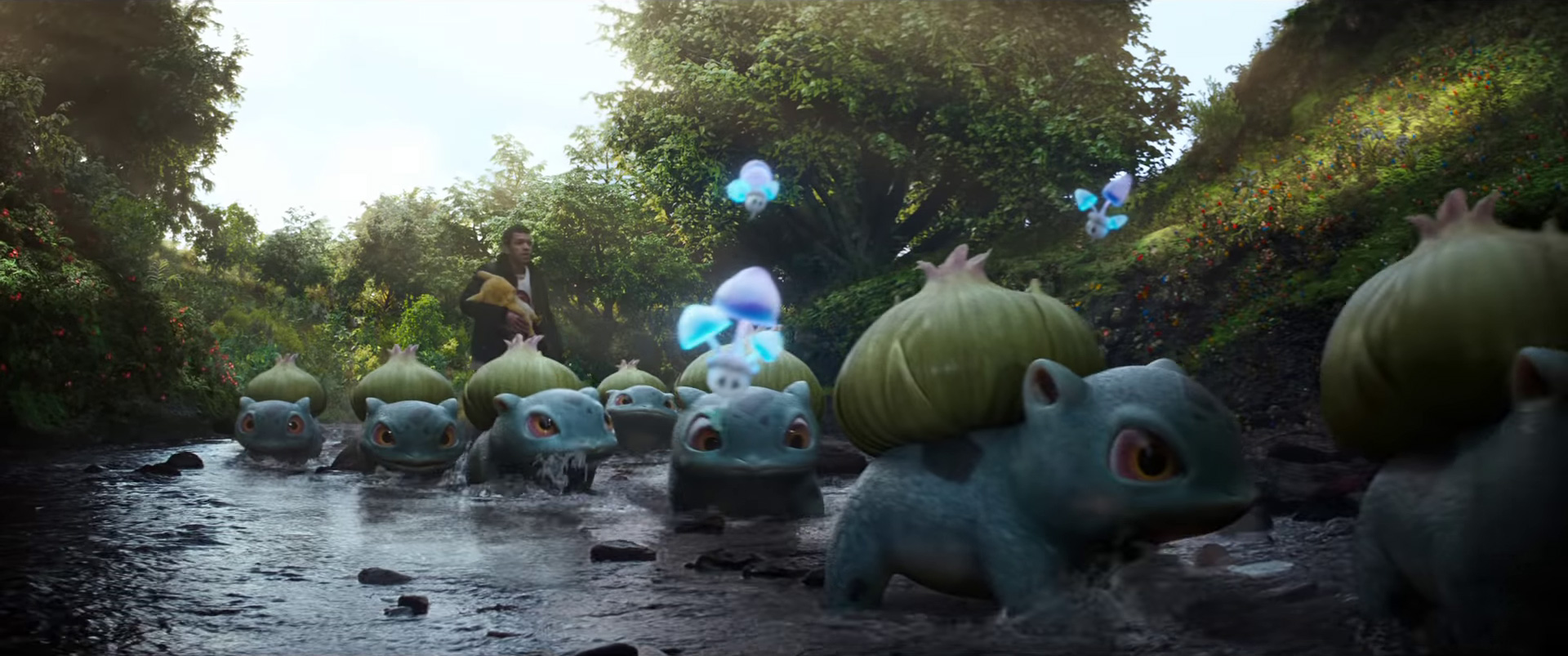 Image result for detective pikachu Bulbasaur