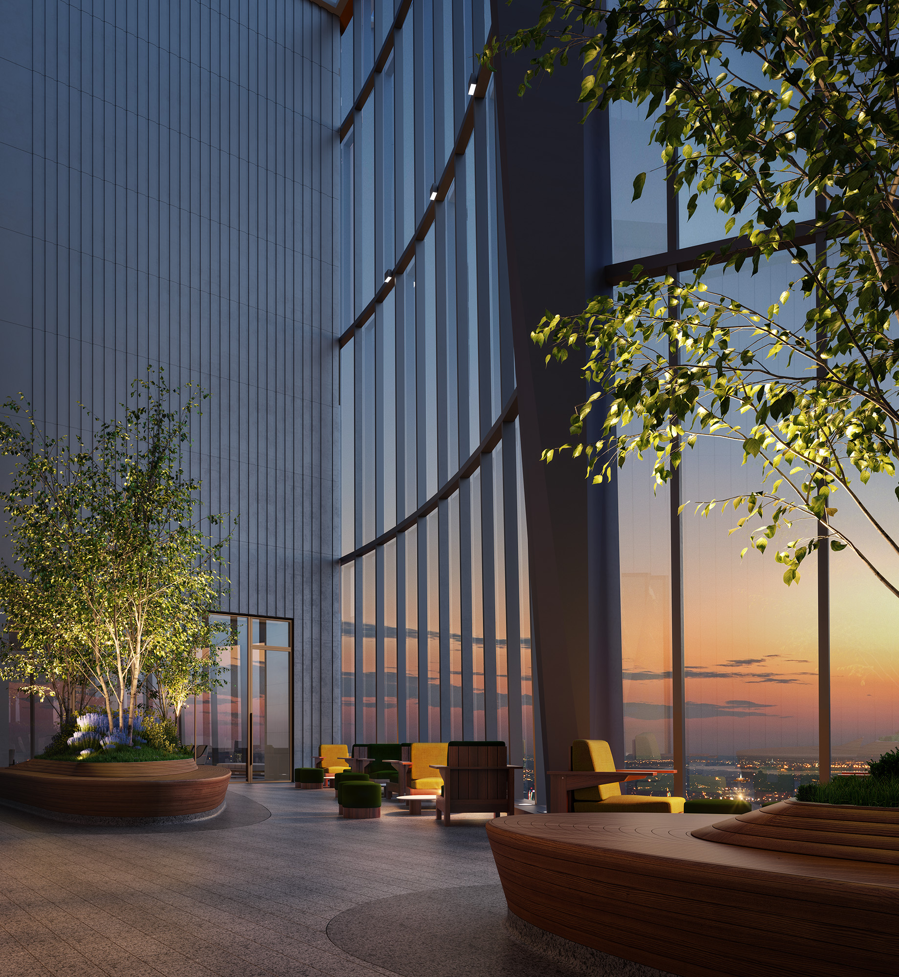 Hudson Yards unveils NYC's highest outdoor residential space