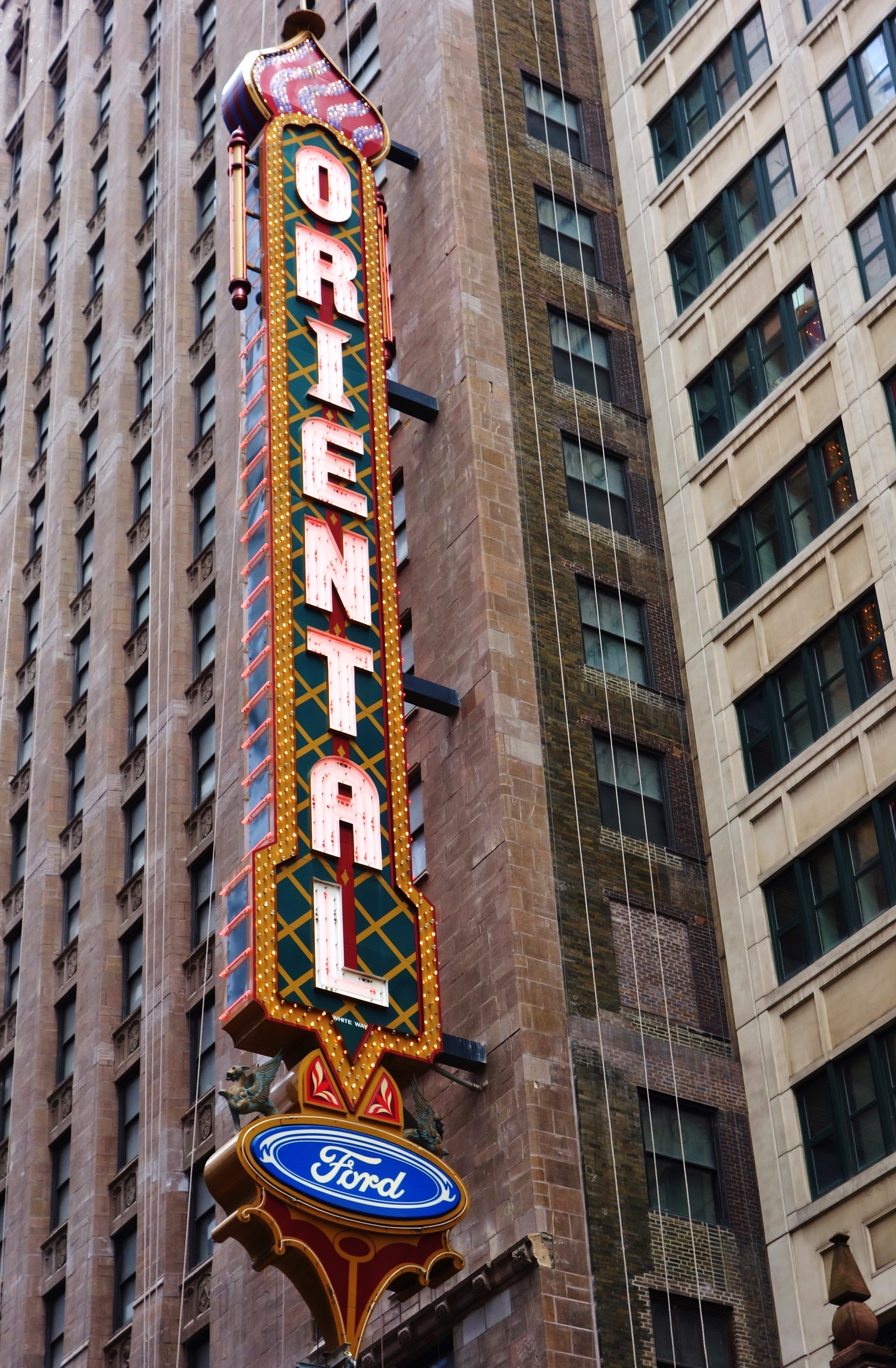 After 92 years, the Loop's Oriental Theatre is changing its name