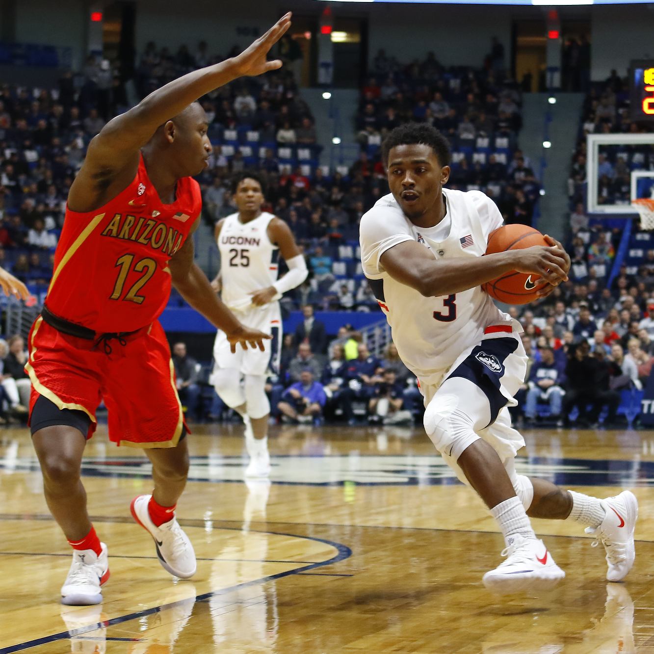Photo Gallery: Arizona Wildcats @ UConn Men's Basketball ...