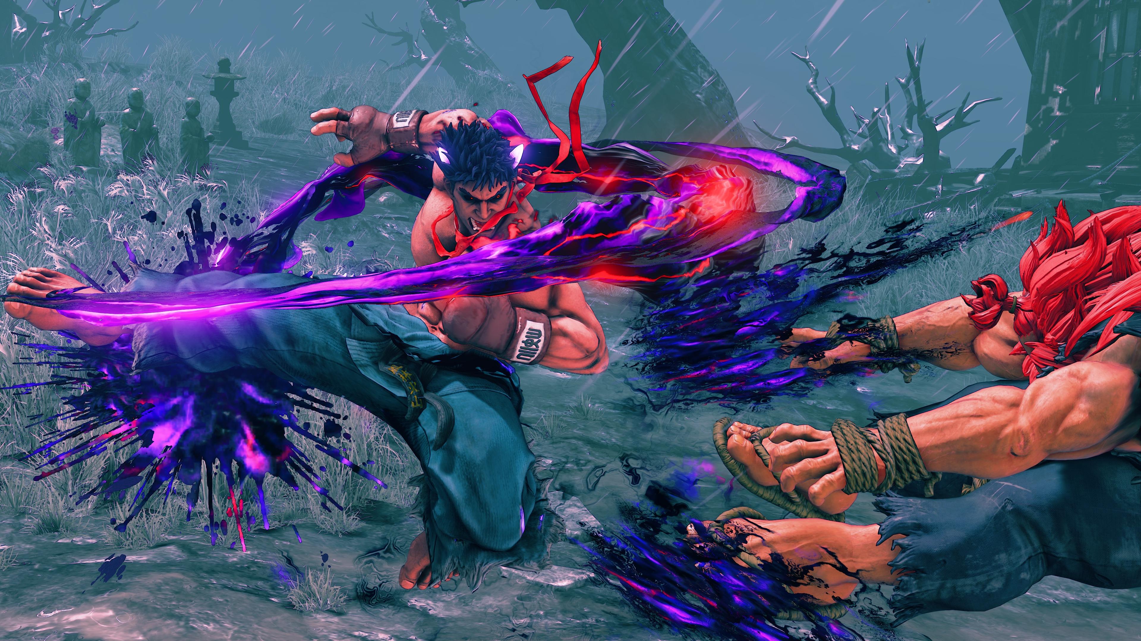 Momentum Logo Street Fighter 5's f...