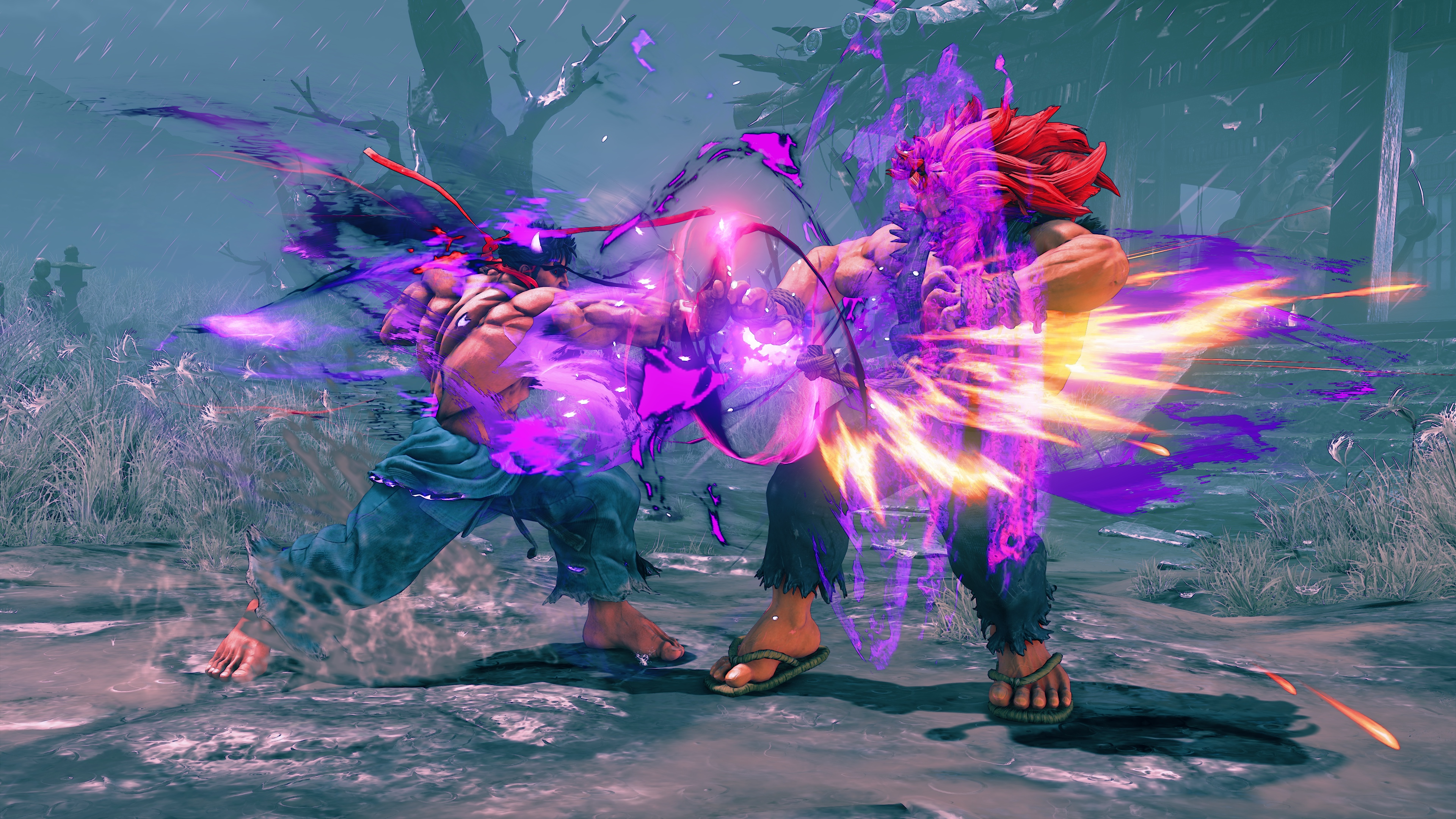Street fighter 5 s first season 4 character kage - Raging demon symbol ...