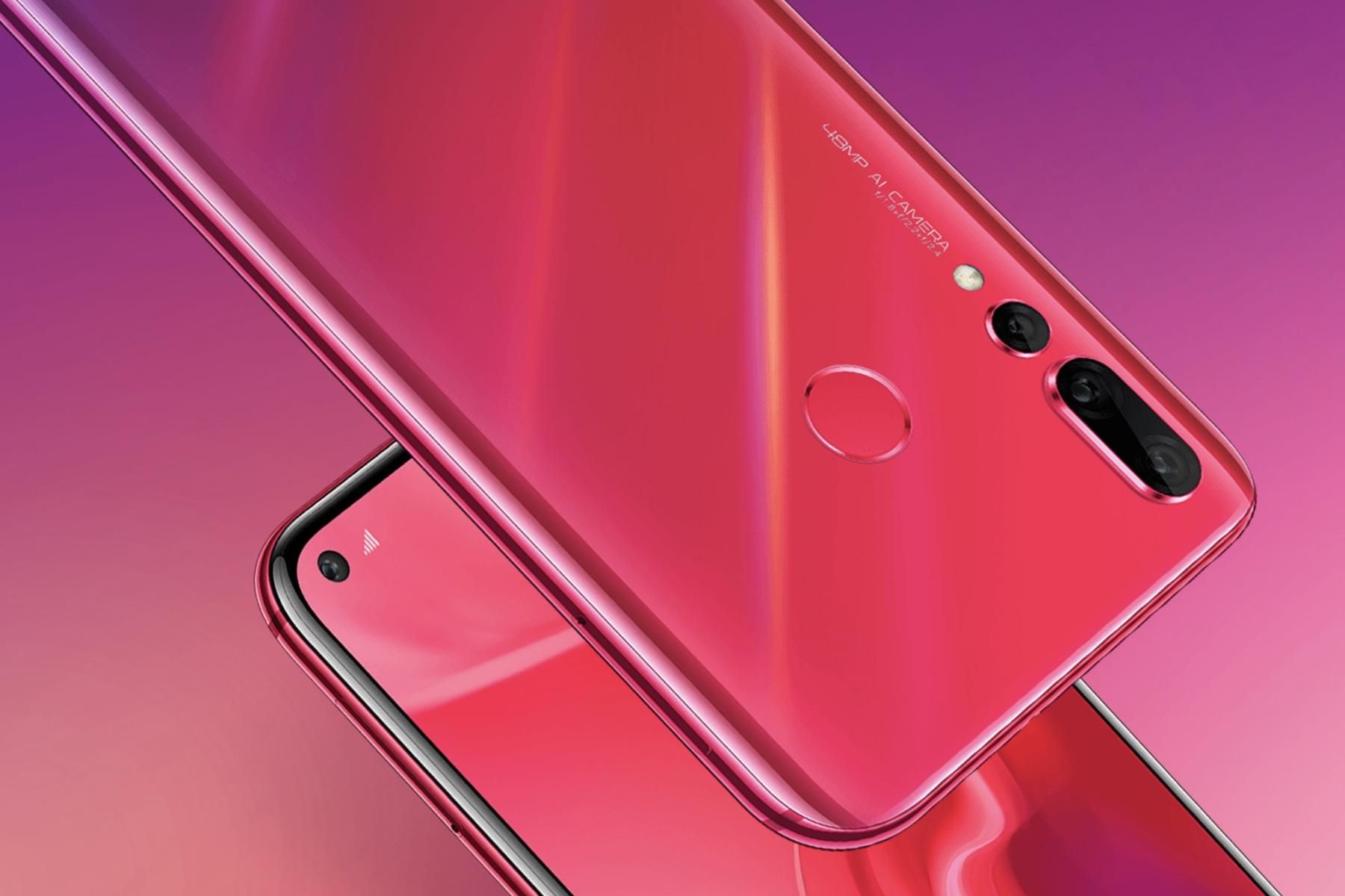 Huawei announces Nova 4