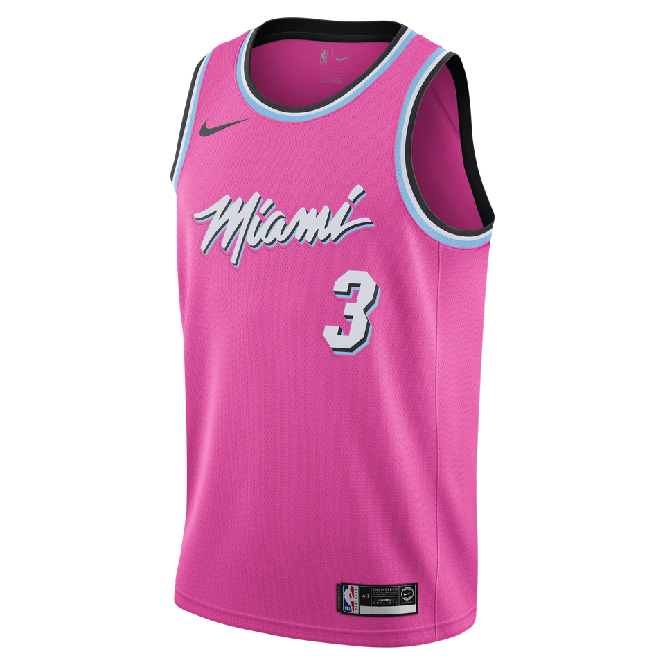0e57f4906cba Dwyane Wade Nike Swingman Jersey - Earned Edition for  109.99 Fanatics