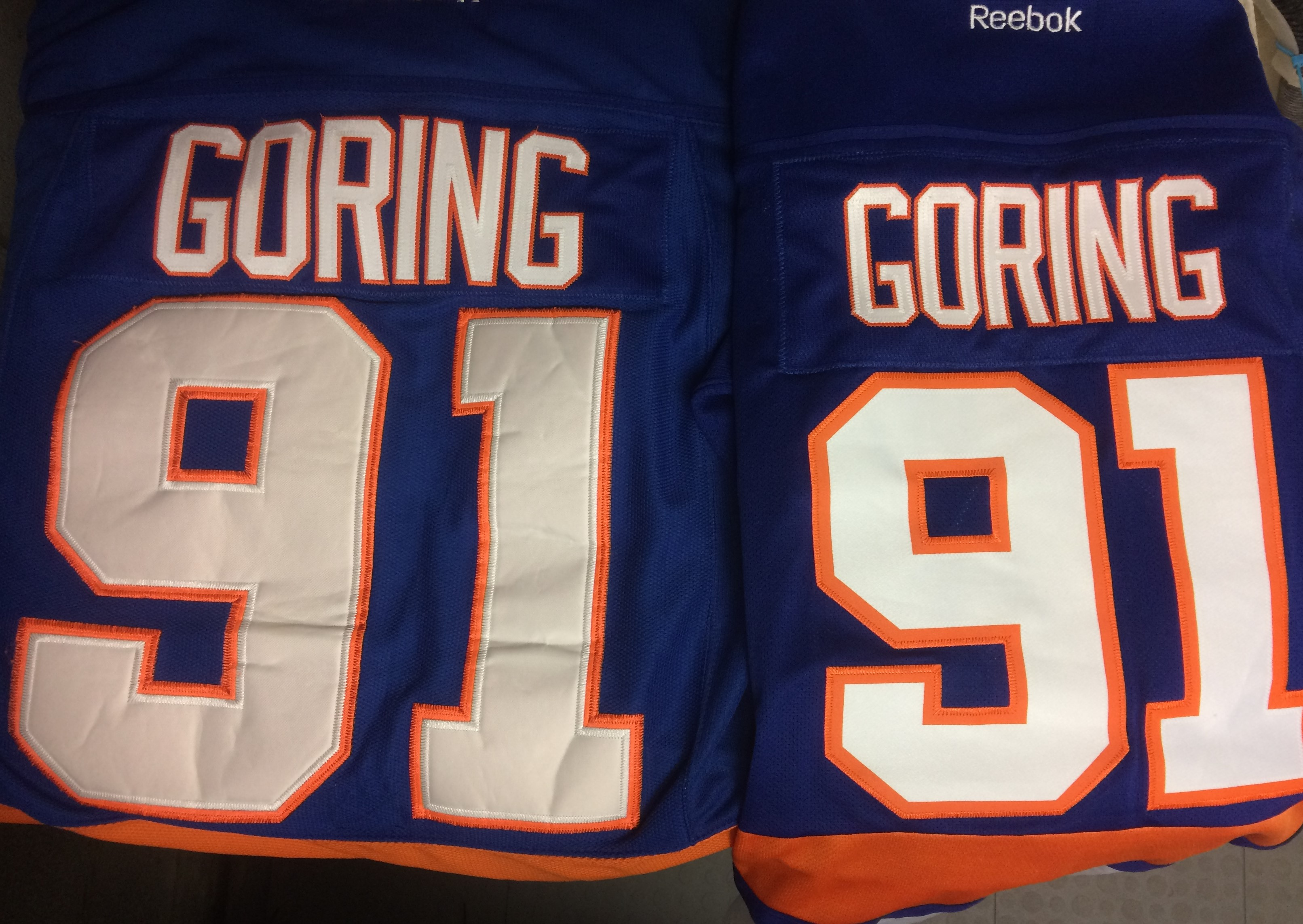 pretty nice 0cb51 3b221 What Islanders Fans Did With John Tavares Jerseys ...