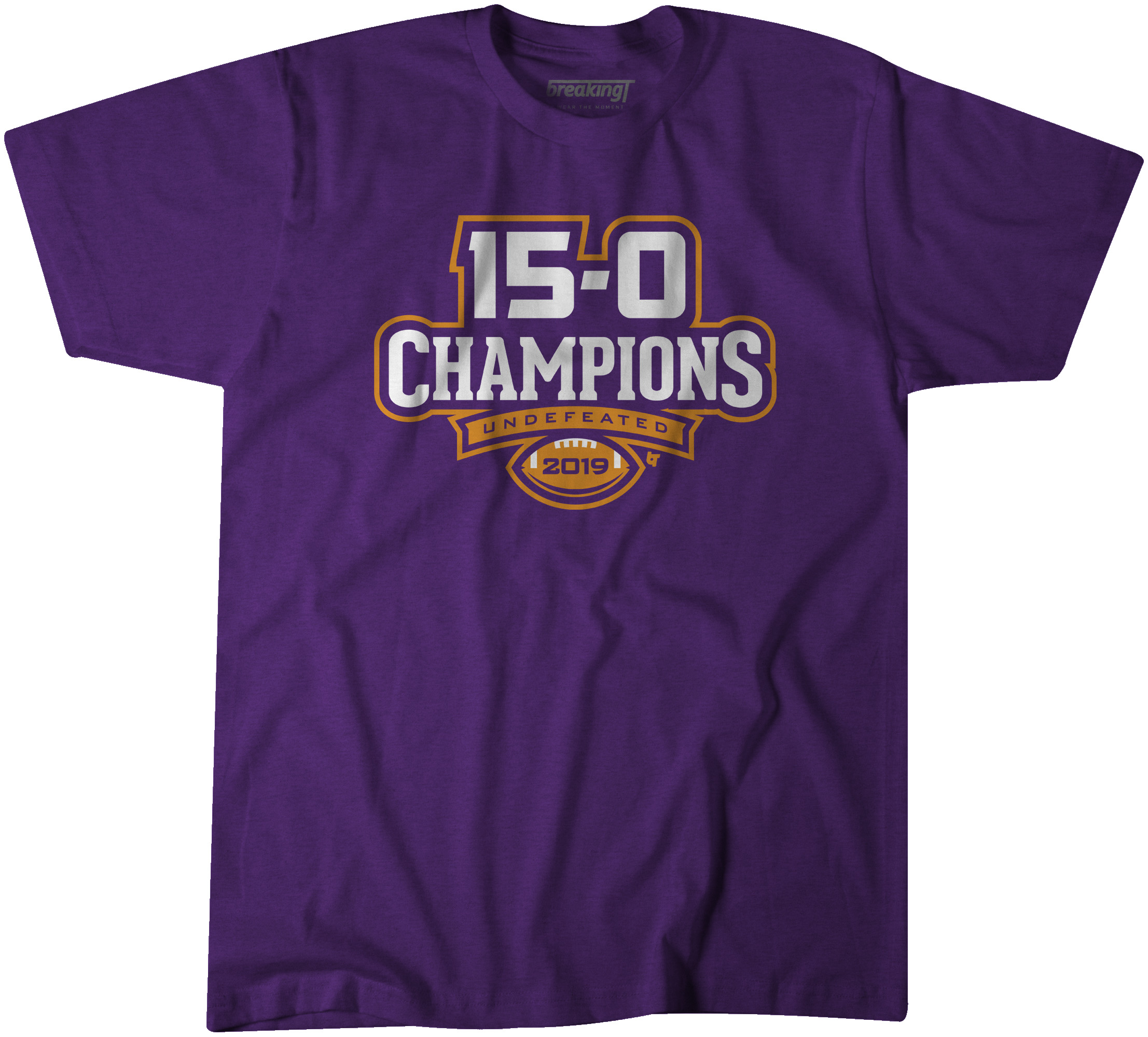 89c8d7838 15-0 Champs T-shirt for  25 BreakingT