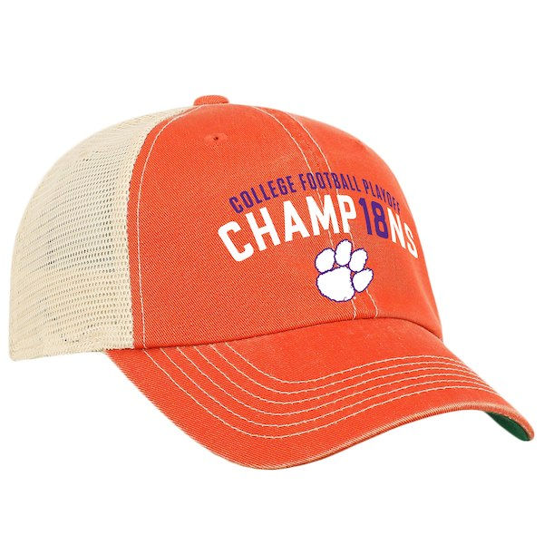Clemson National Champs Adjustable Hat - Orange for  29.99 Fanatics 6eb603a6d20