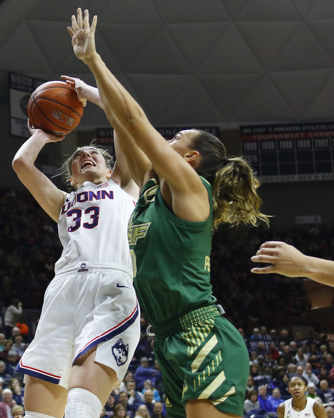 Photo Gallery: USF Bulls @ UConn Women's Basketball - 1/13 ...