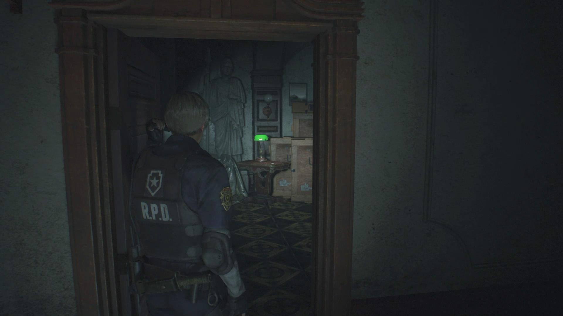 Resident Evil 2 Police Station walkthrough — Maiden Medallion - Polygon
