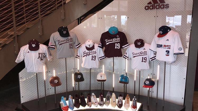 8e3112666 These Adidas Texas A M Aggies baseball uniforms are scriptastic ...
