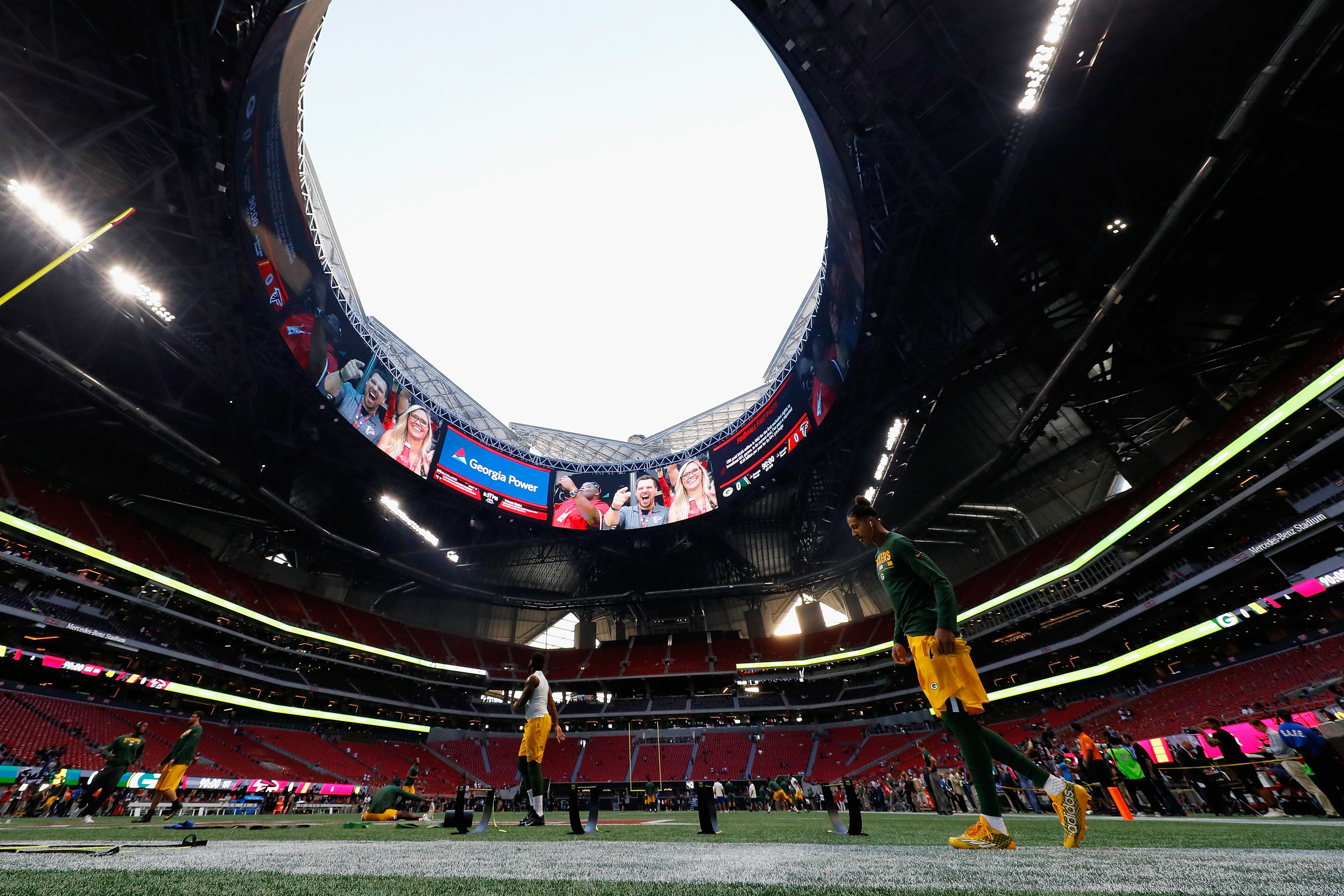 Super Bowl 53 Mercedes Benz Stadium S 7 Wildest Features