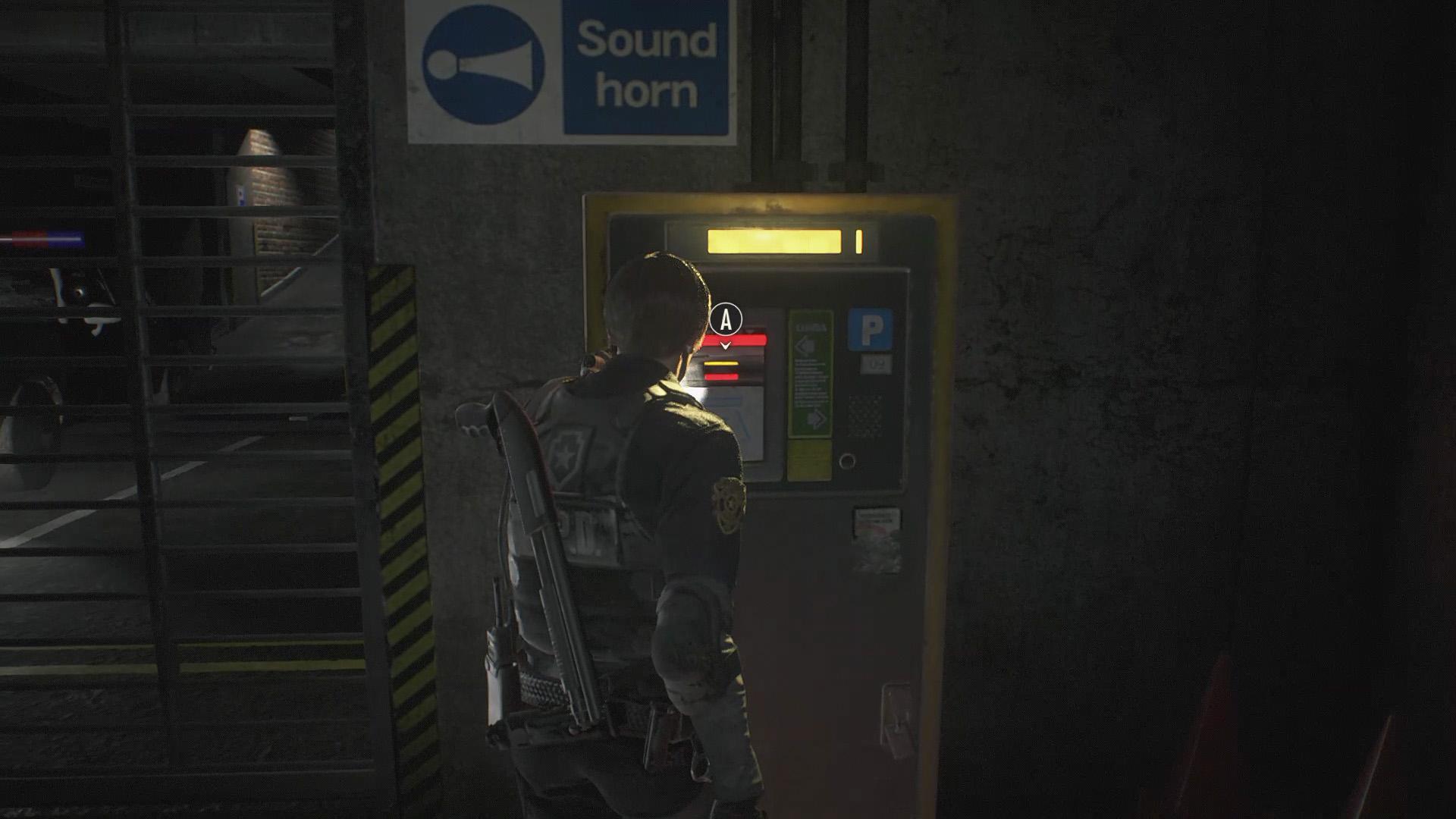 Resident Evil 2 Parking Garage walkthrough 1 - Polygon
