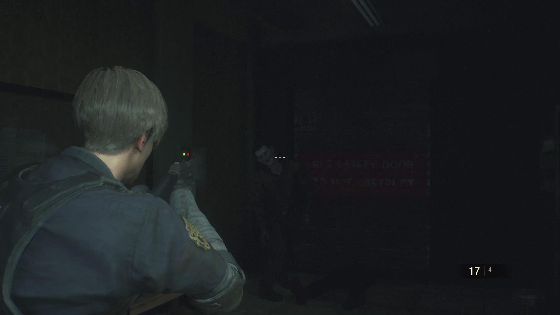 Resident Evil 2 Leon walkthrough: Club Key, Waiting Room