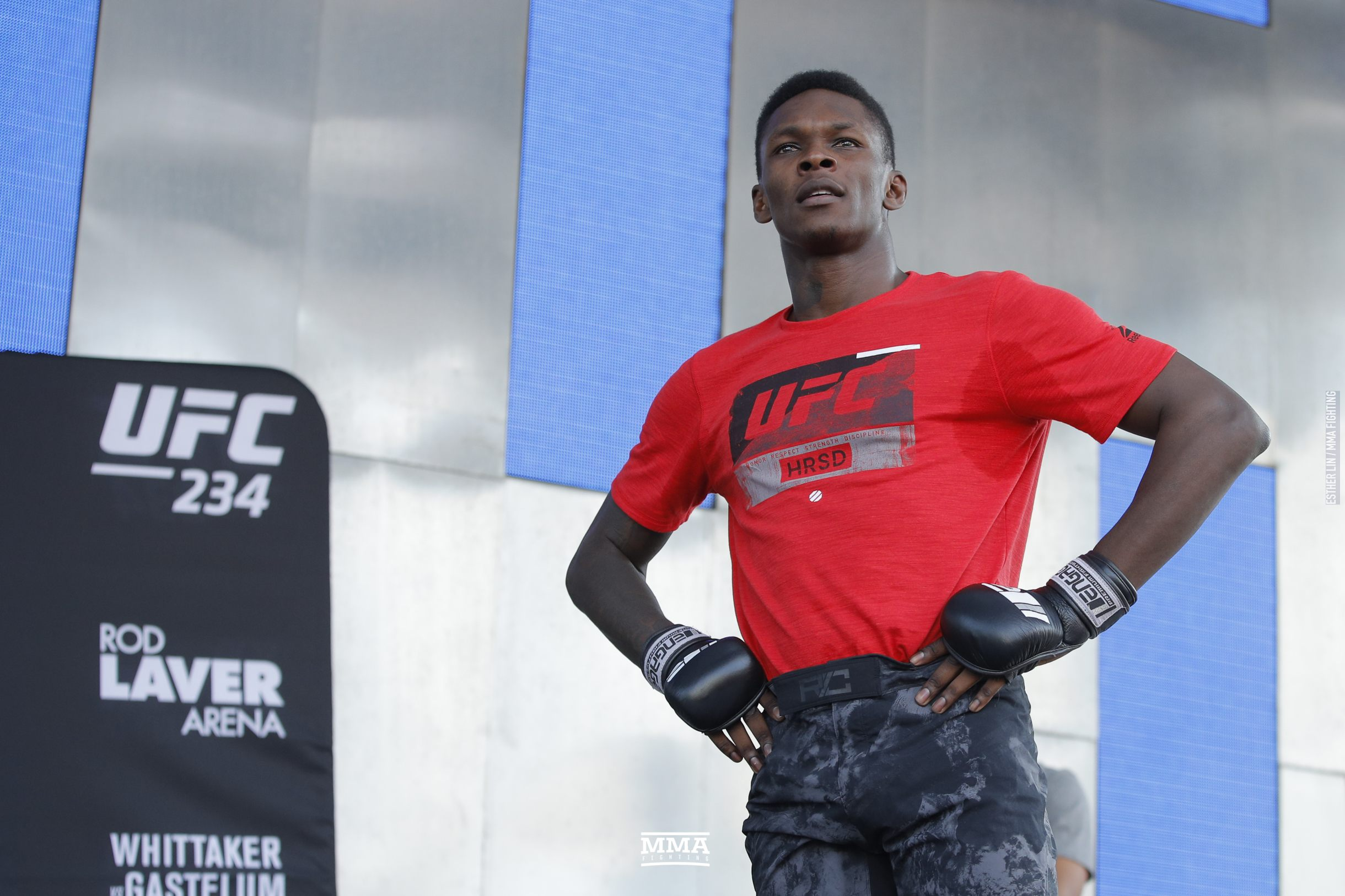 UFC 234 open workout photos