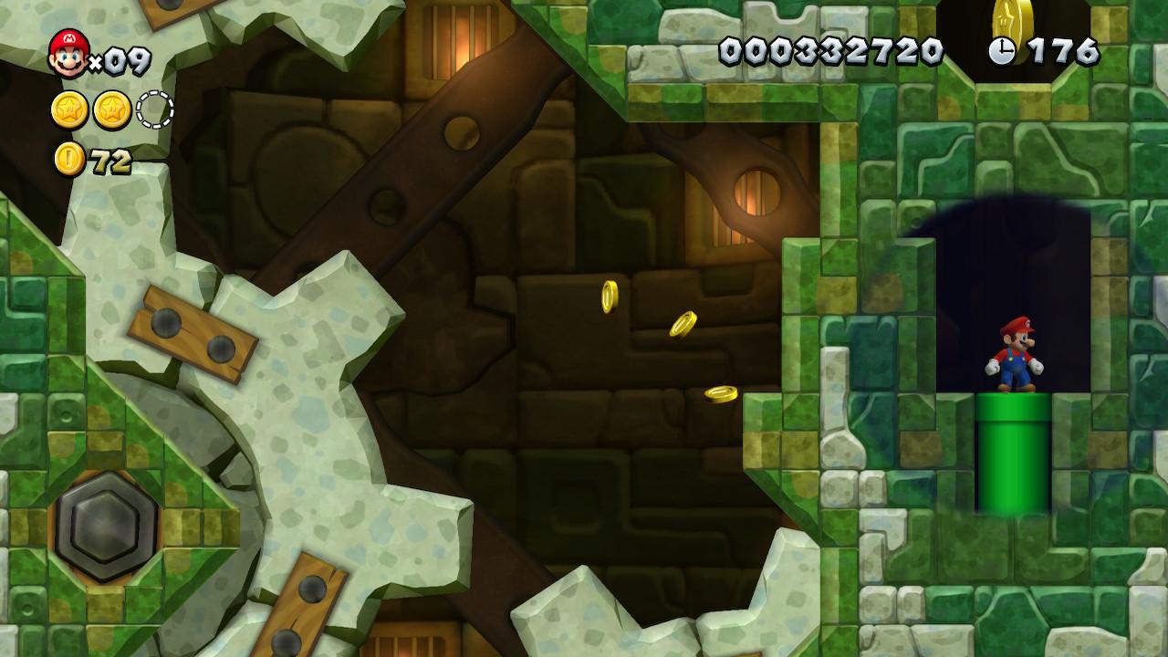 Acorn Plains Star Coins locations: New Super Mario Bros  U Deluxe