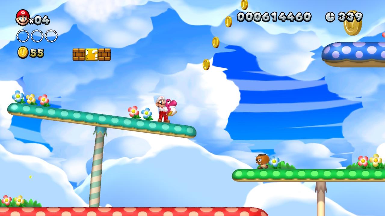 Acorn Plains Star Coins locations: New Super Mario Bros  U