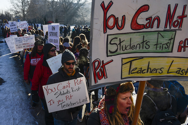 Vox Sentences: A message from Denver's teachers