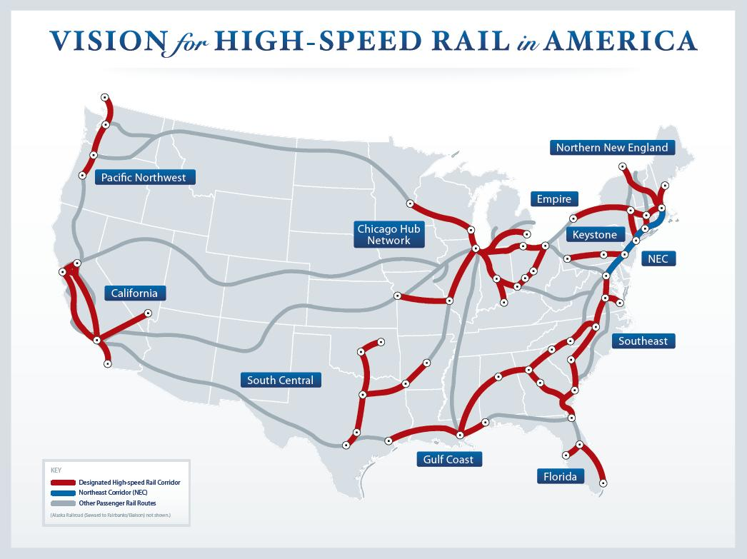 California high-speed rail and the American infrastructure tragedy, explained
