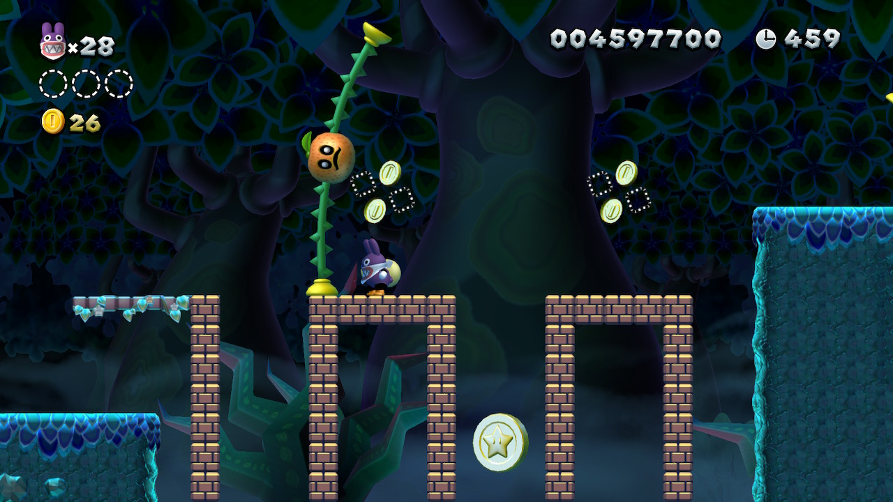 Soda Jungle Star Coins locations: New Super Mario Bros  U