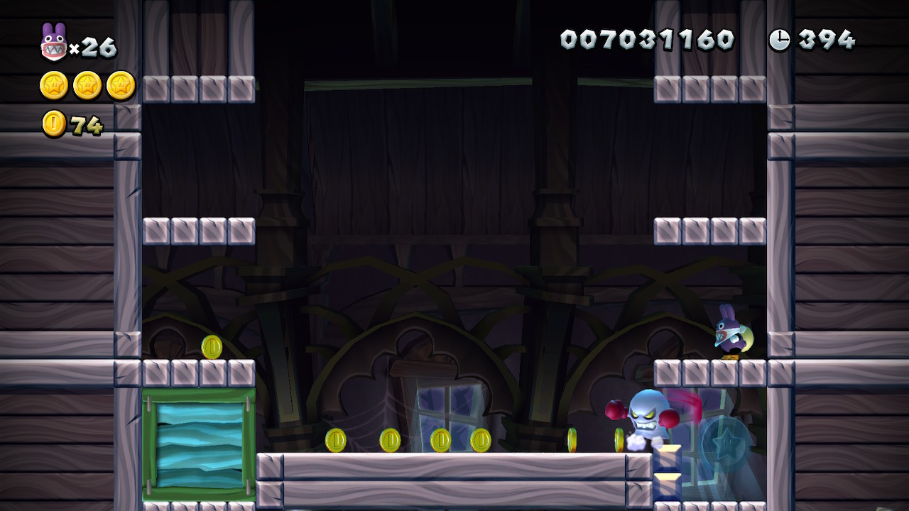Meringue Clouds Star Coins locations: New Super Mario Bros  U Deluxe