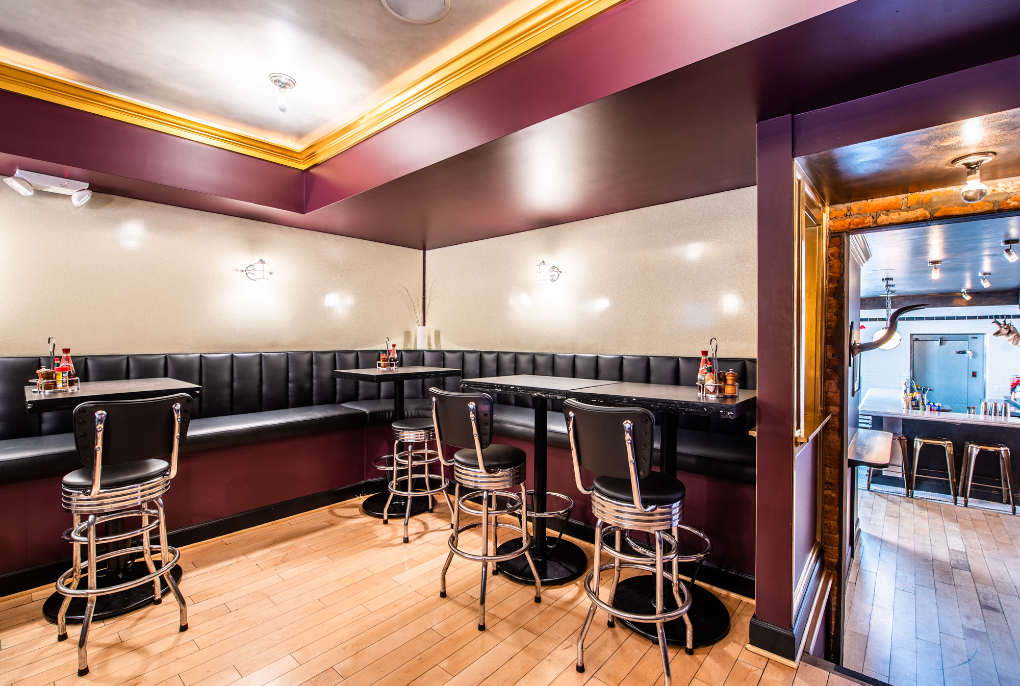 Inside Hank's Cocktail Bar, Dupont's New Second-Story Mixology Lab