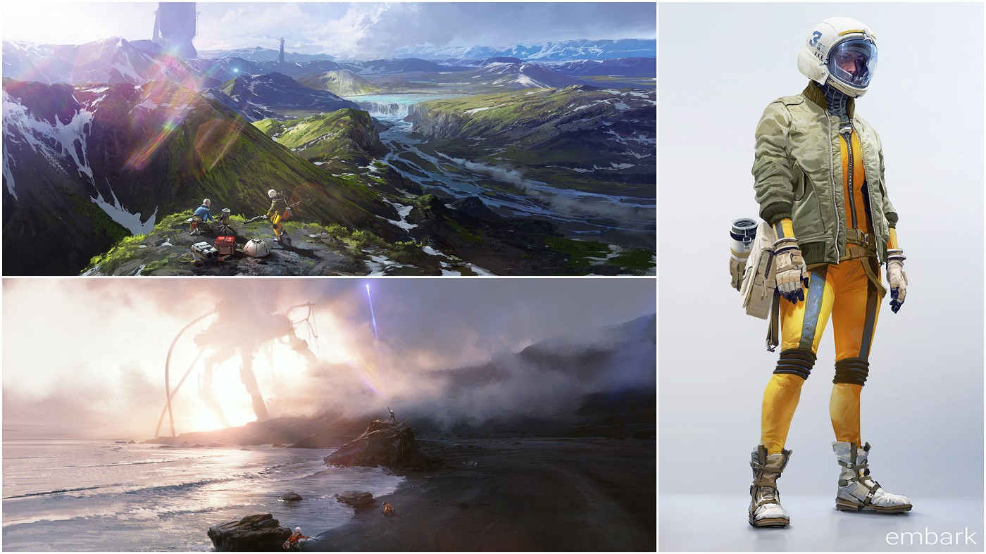 Former DICE head's new studio, Embark, teases first game
