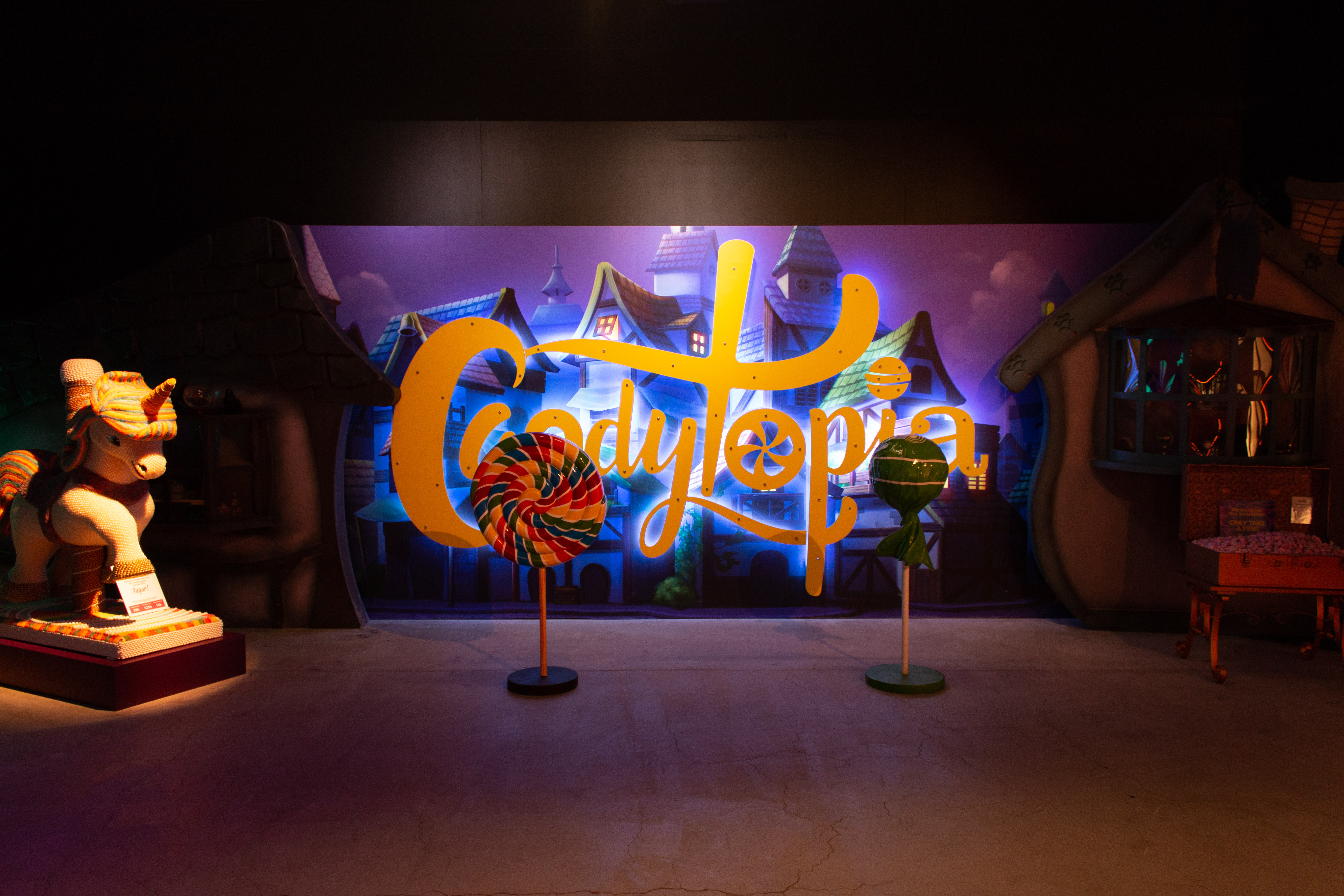 Inside the Mall of America's New Candytopia Exhibit