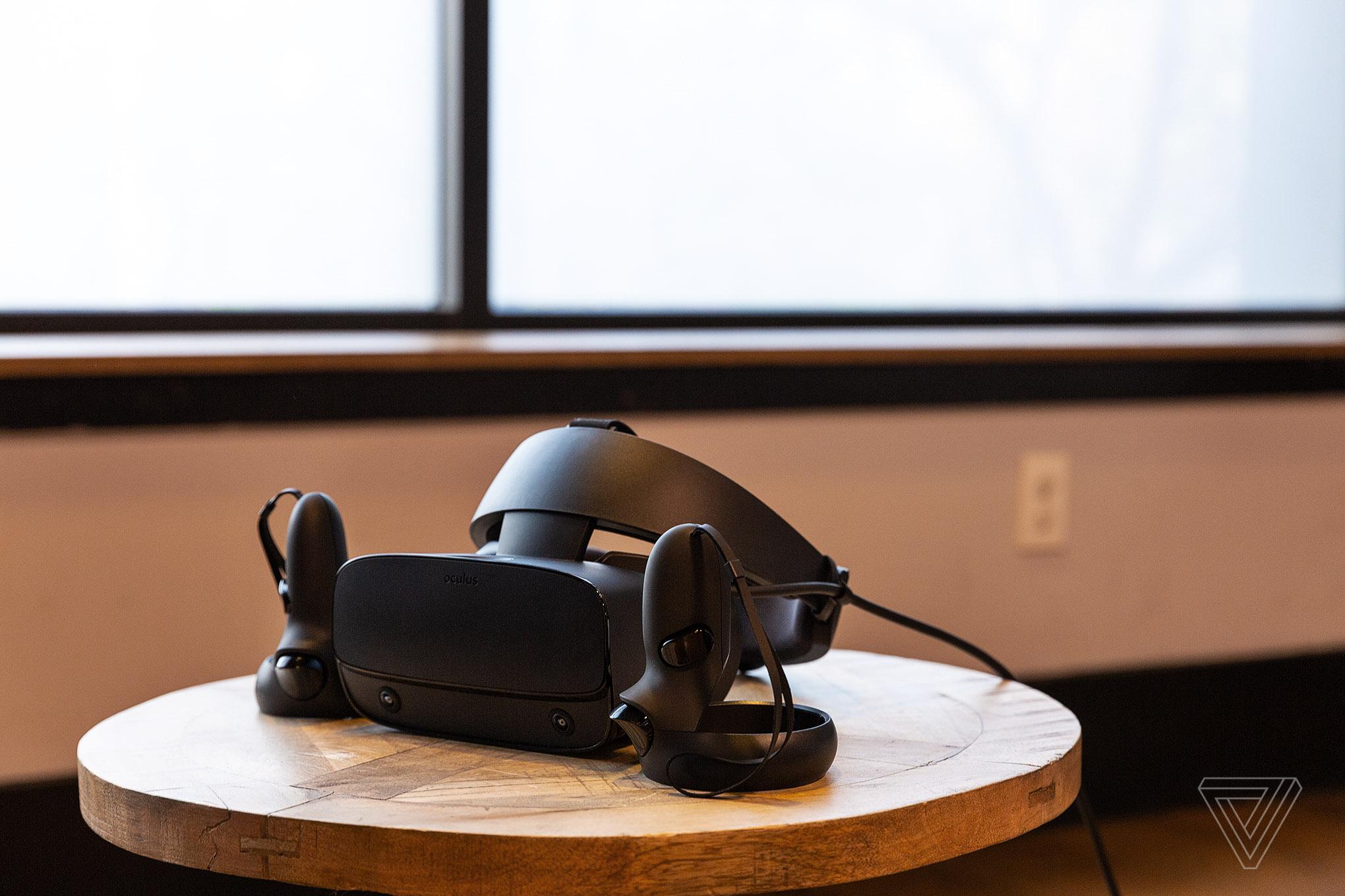Oculus unveils the Rift S, a higher-resolution VR headset