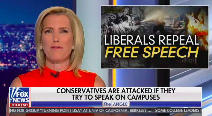 Trump free speech: Fox News exposes conservative bad faith about campus