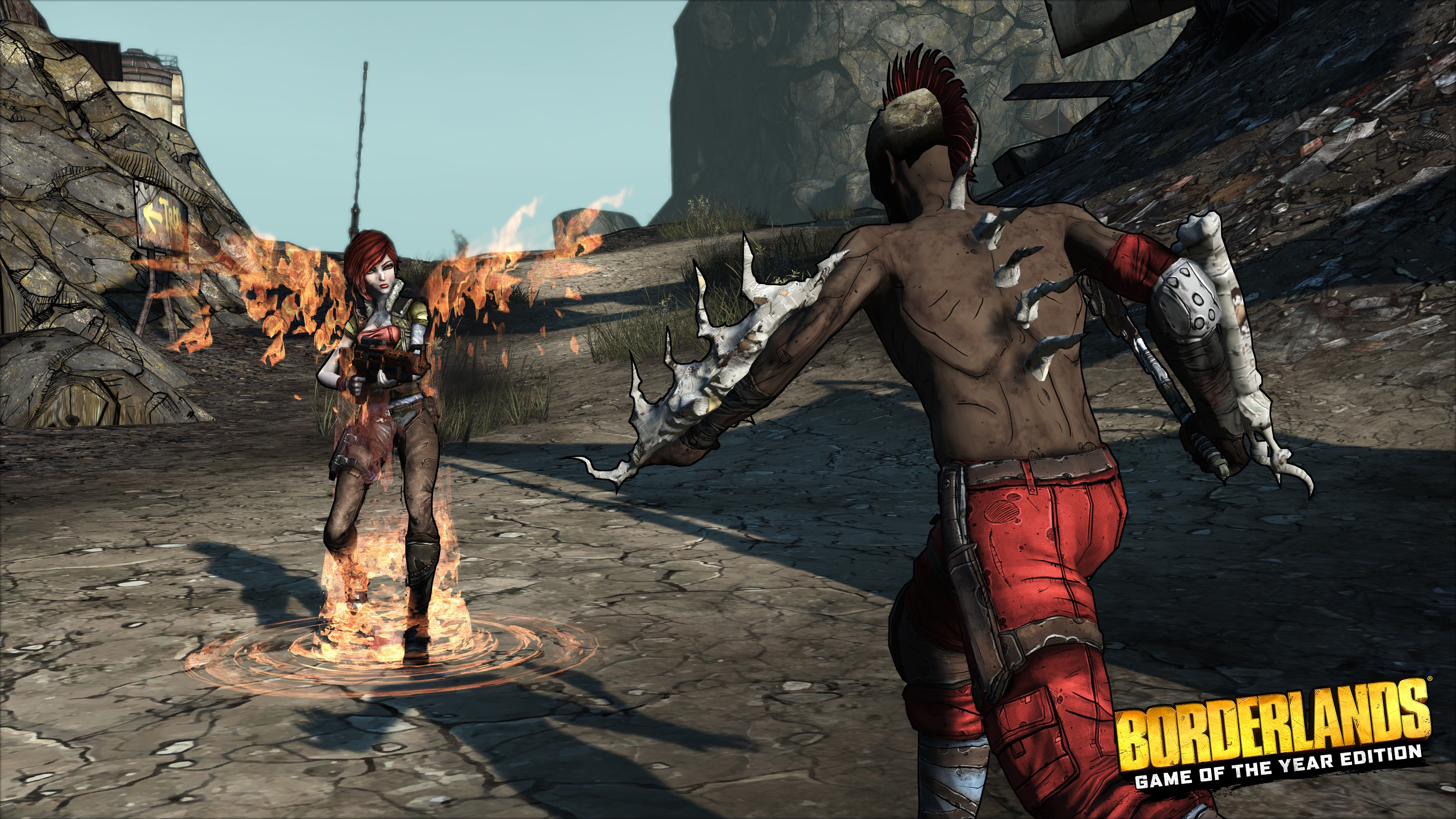 Borderlands remaster coming to PC, PS4, and Xbox One in