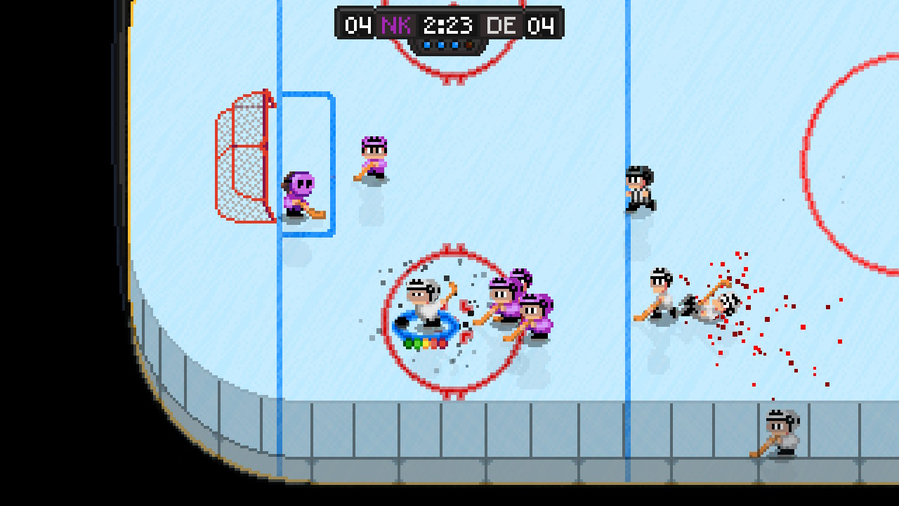 Super Blood Hockey Coming To Switch Ps4 Xbox One Polygon